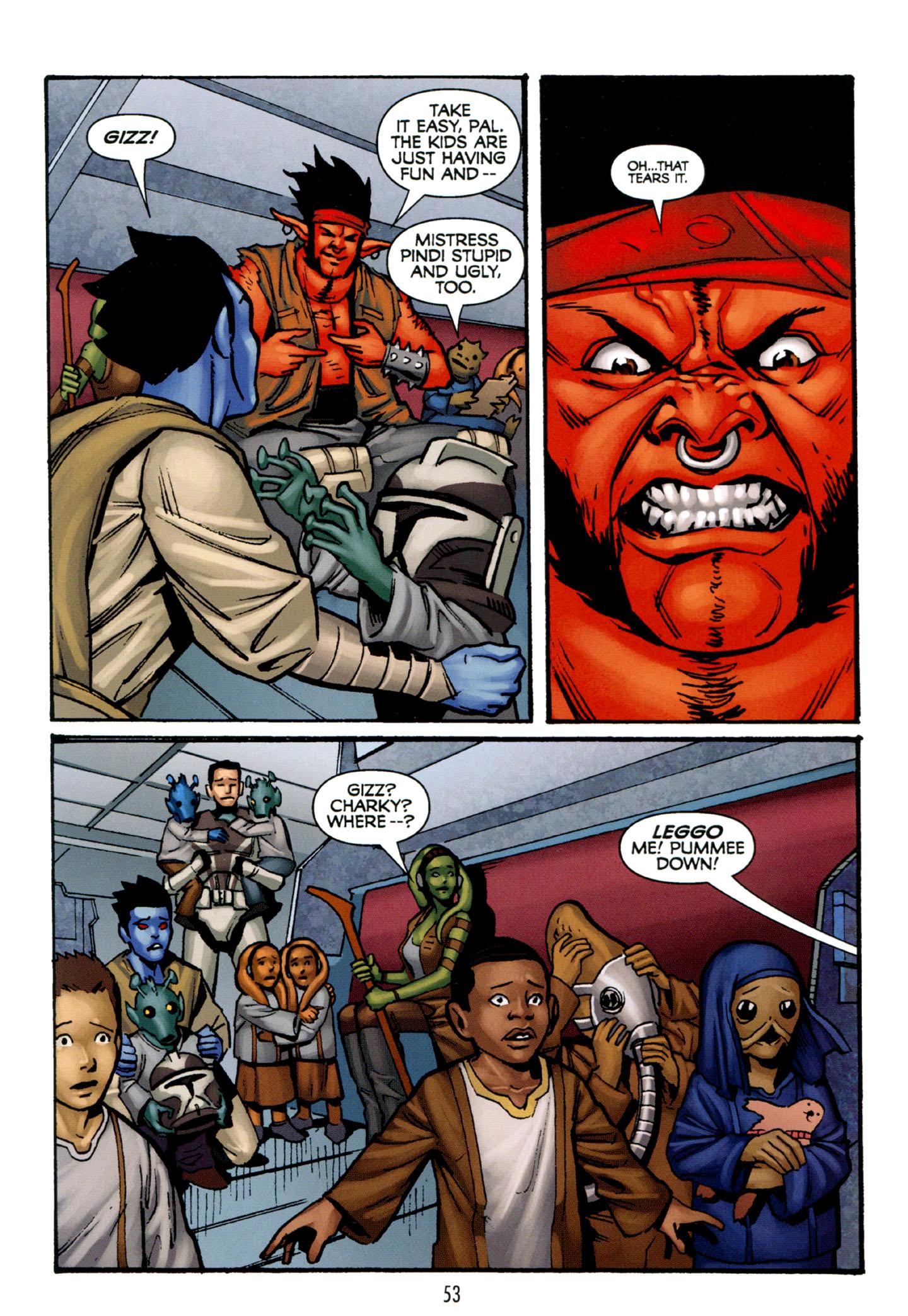 Read online Star Wars: The Clone Wars - Strange Allies comic -  Issue # Full - 54