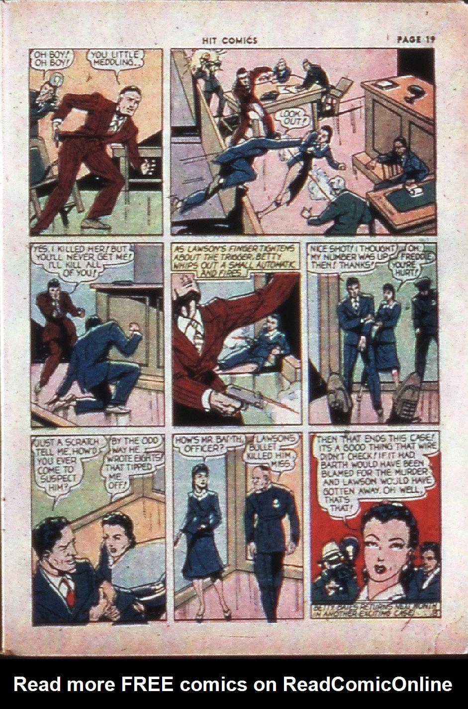 Read online Hit Comics comic -  Issue #4 - 21