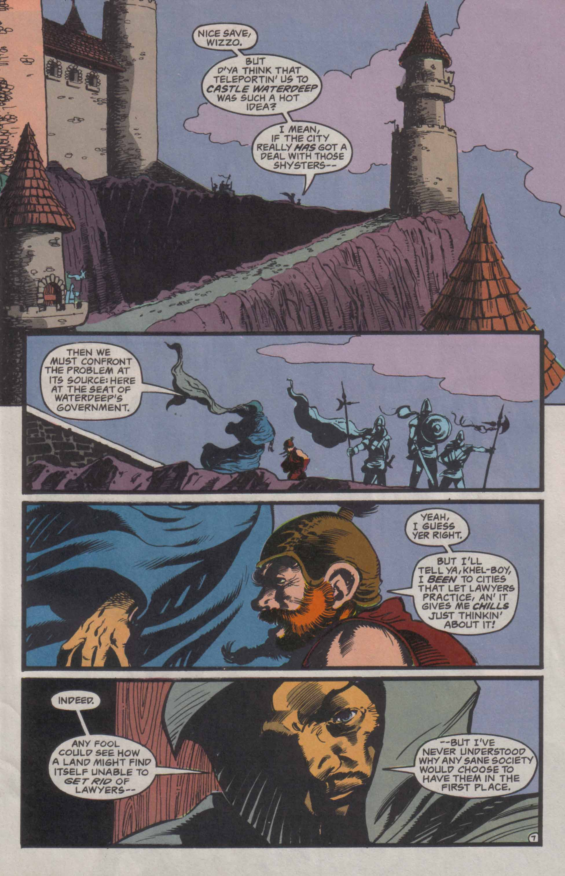 Read online Advanced Dungeons & Dragons comic -  Issue #23 - 8