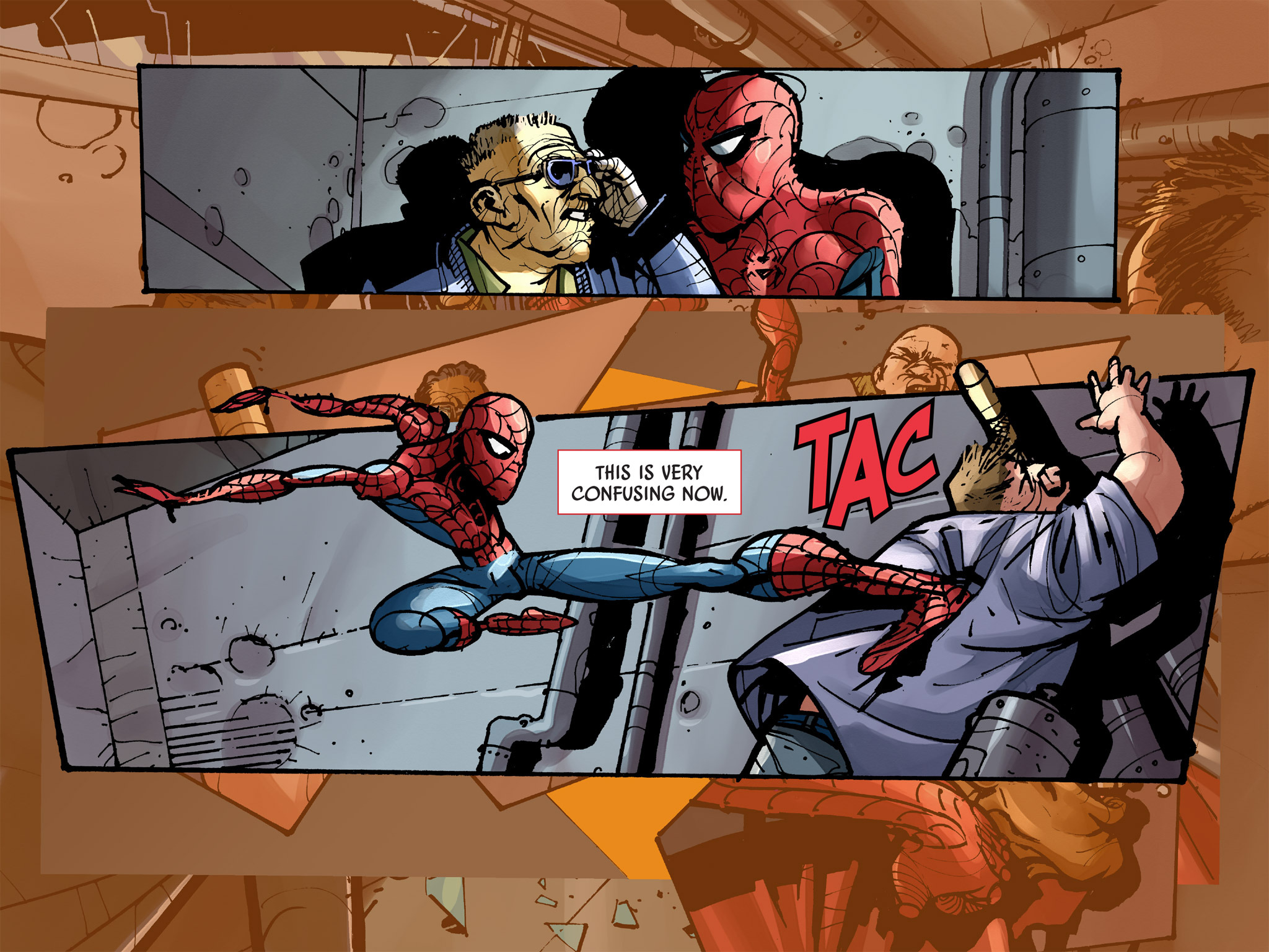 Read online Amazing Spider-Man: Who Am I? comic -  Issue # Full (Part 2) - 129