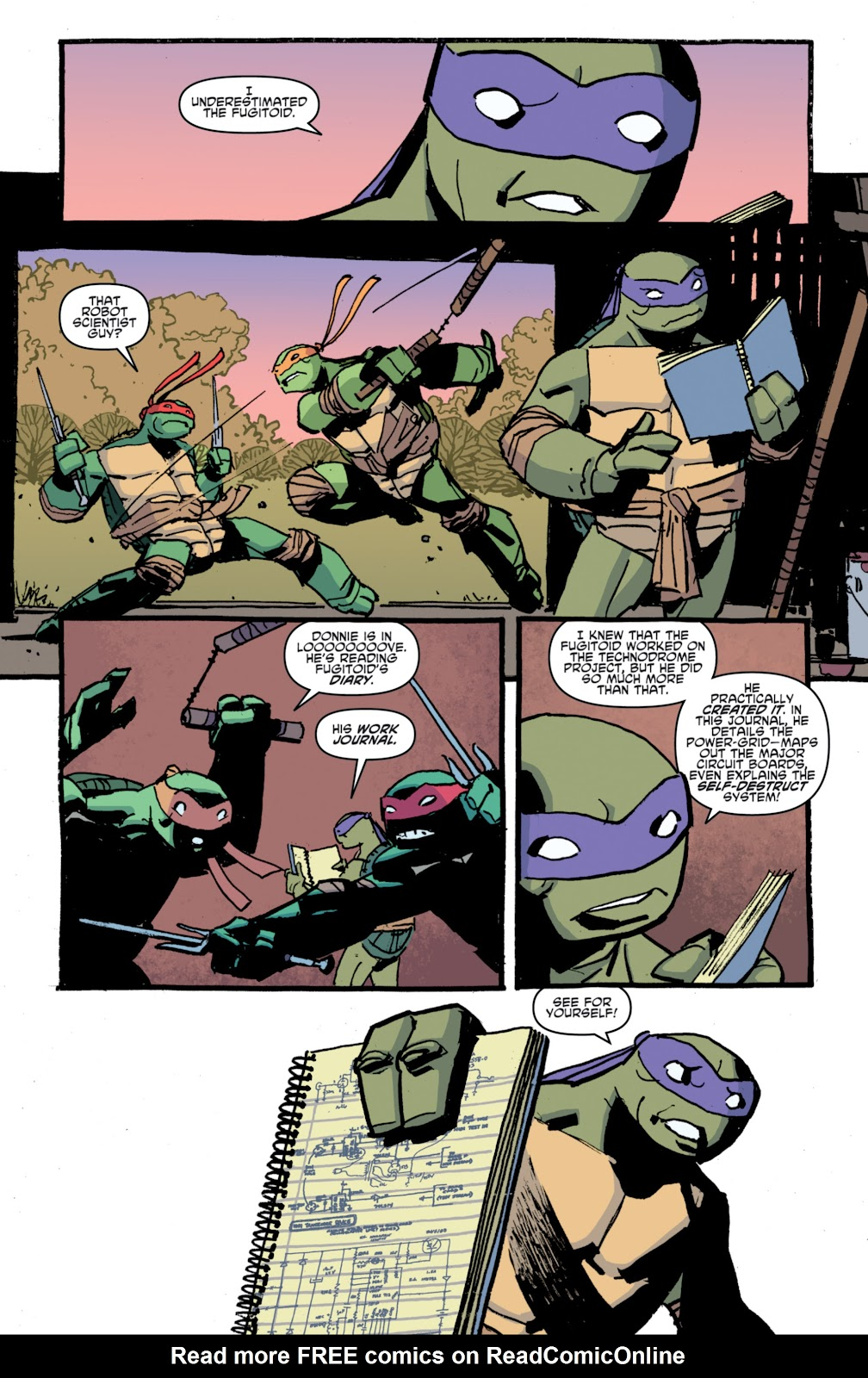Read online Teenage Mutant Ninja Turtles: The IDW Collection comic -  Issue # TPB 4 (Part 1) - 90