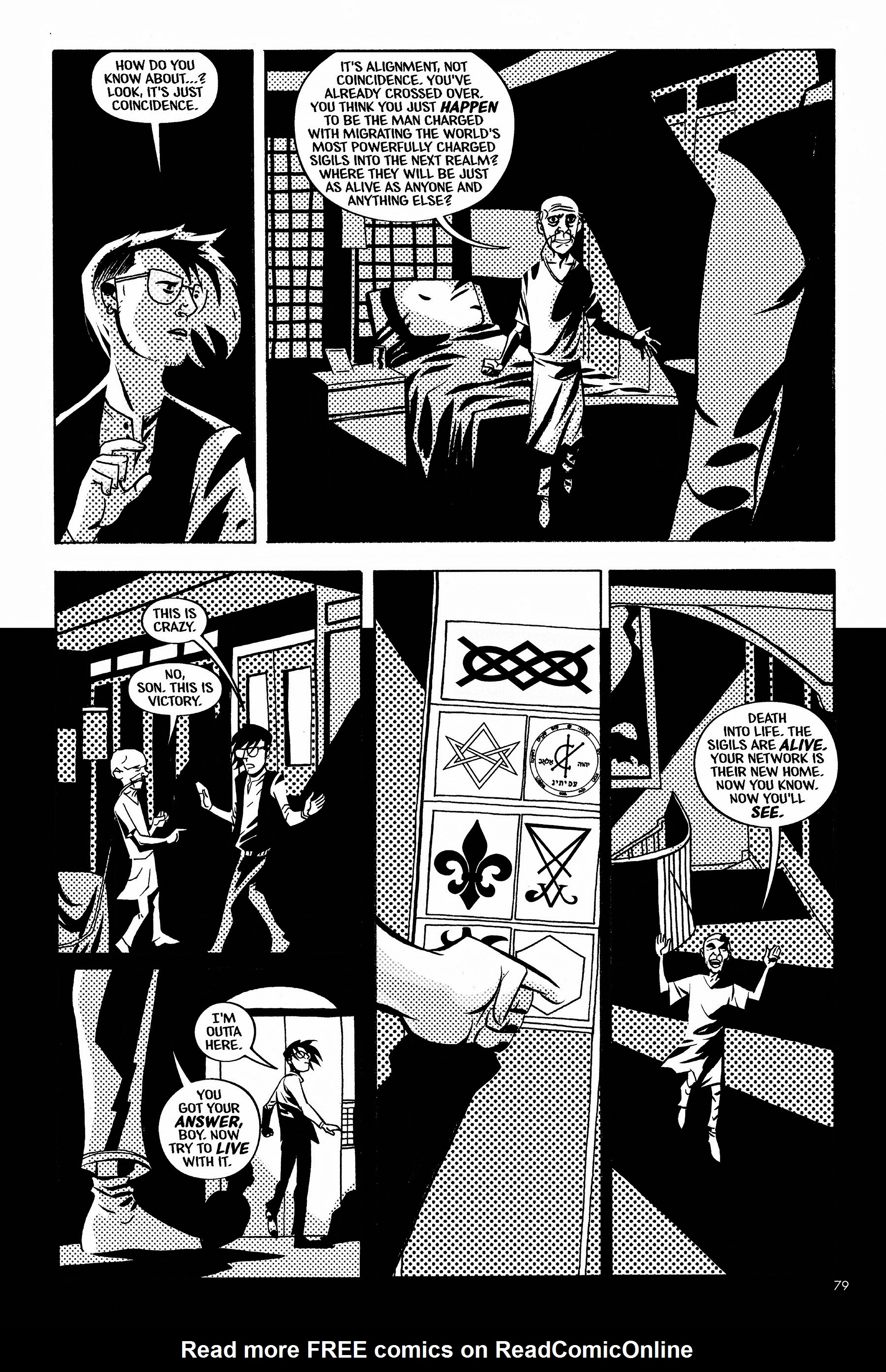 Read online Aleister & Adolf comic -  Issue # TPB - 77
