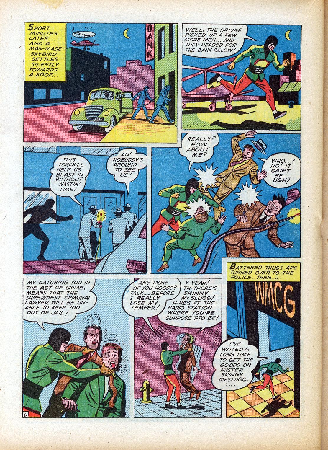 Read online Sensation (Mystery) Comics comic -  Issue #18 - 38