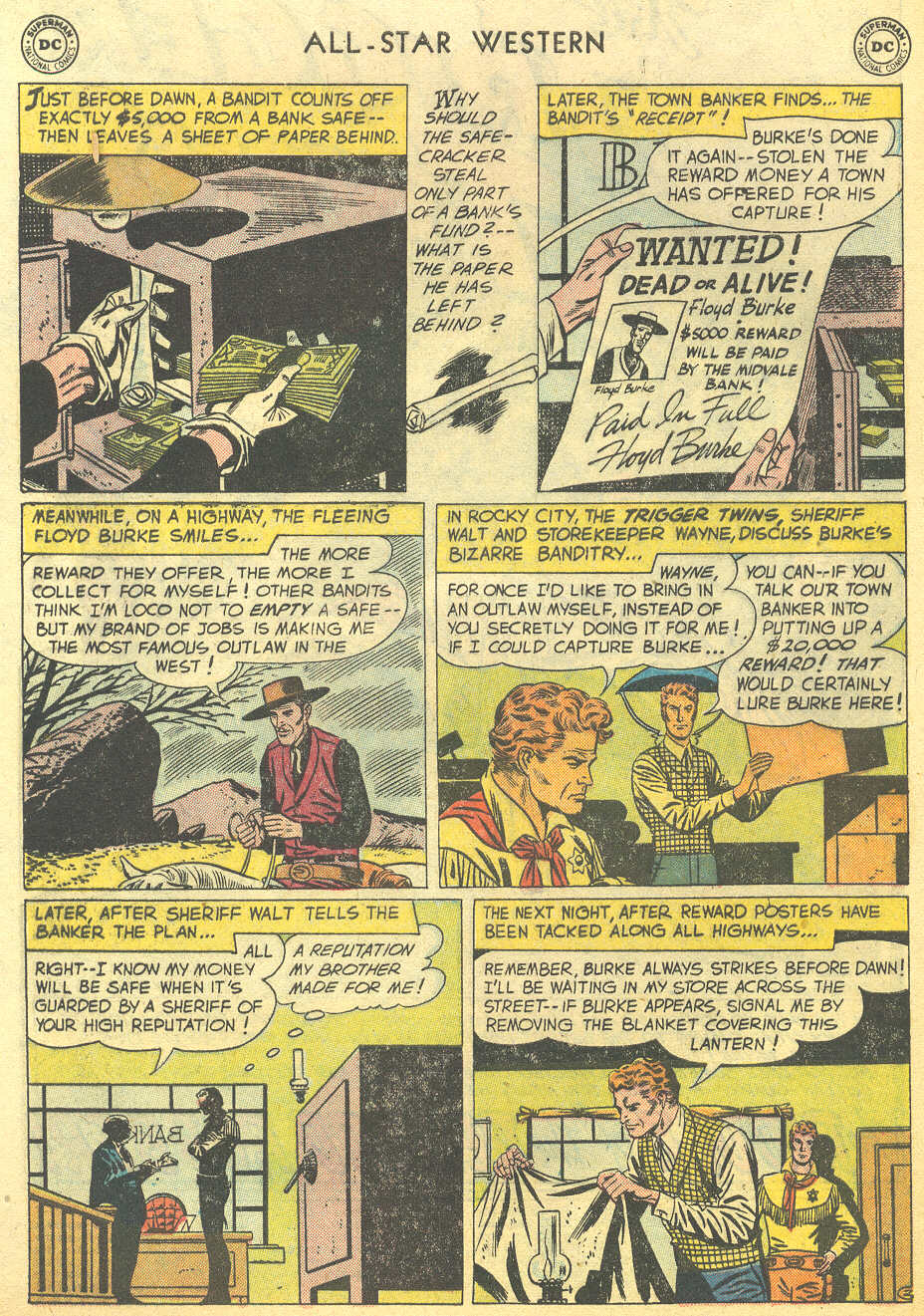 Read online All-Star Western (1951) comic -  Issue #95 - 4