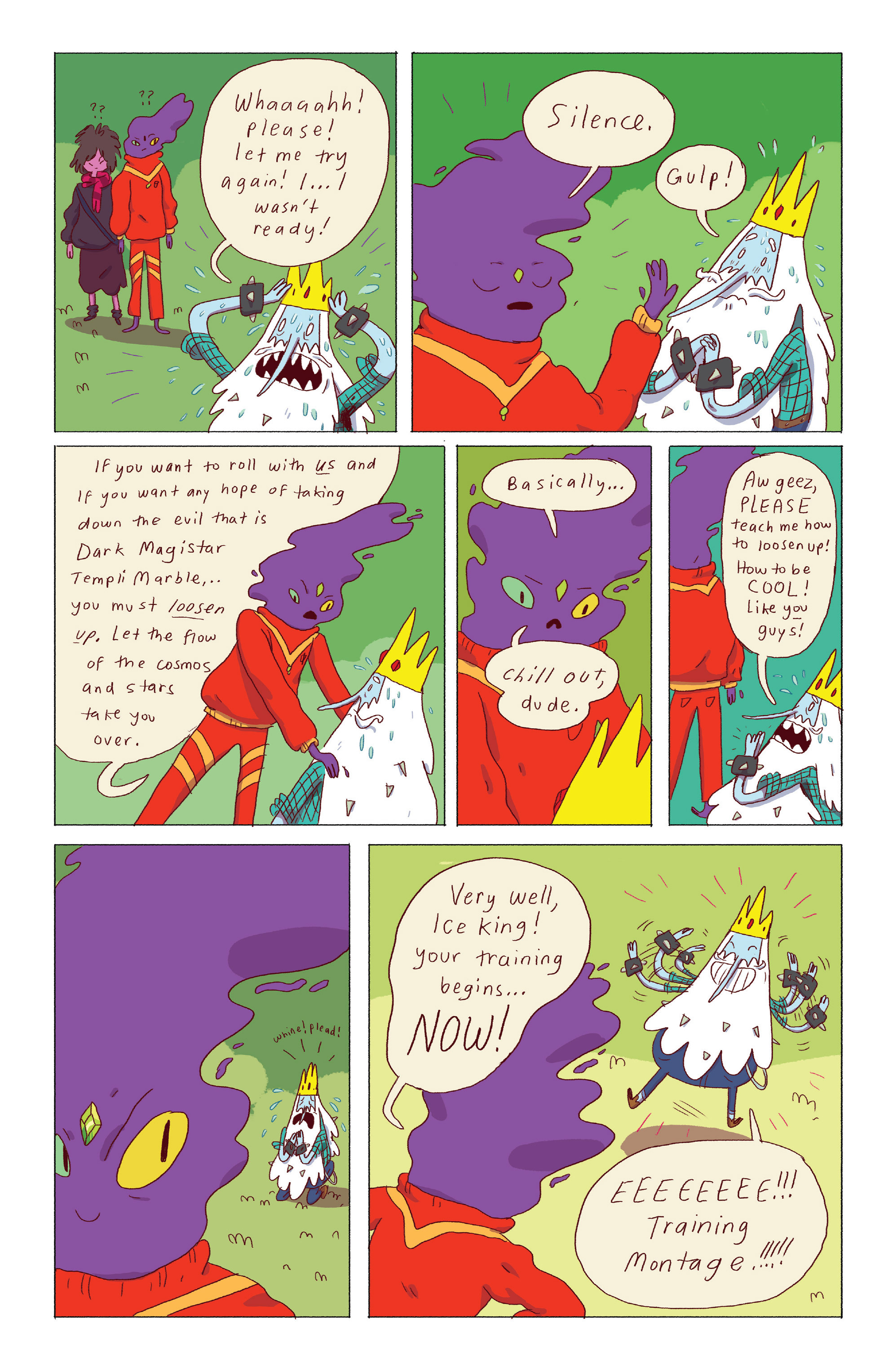 Read online Adventure Time: Ice King comic -  Issue #3 - 10