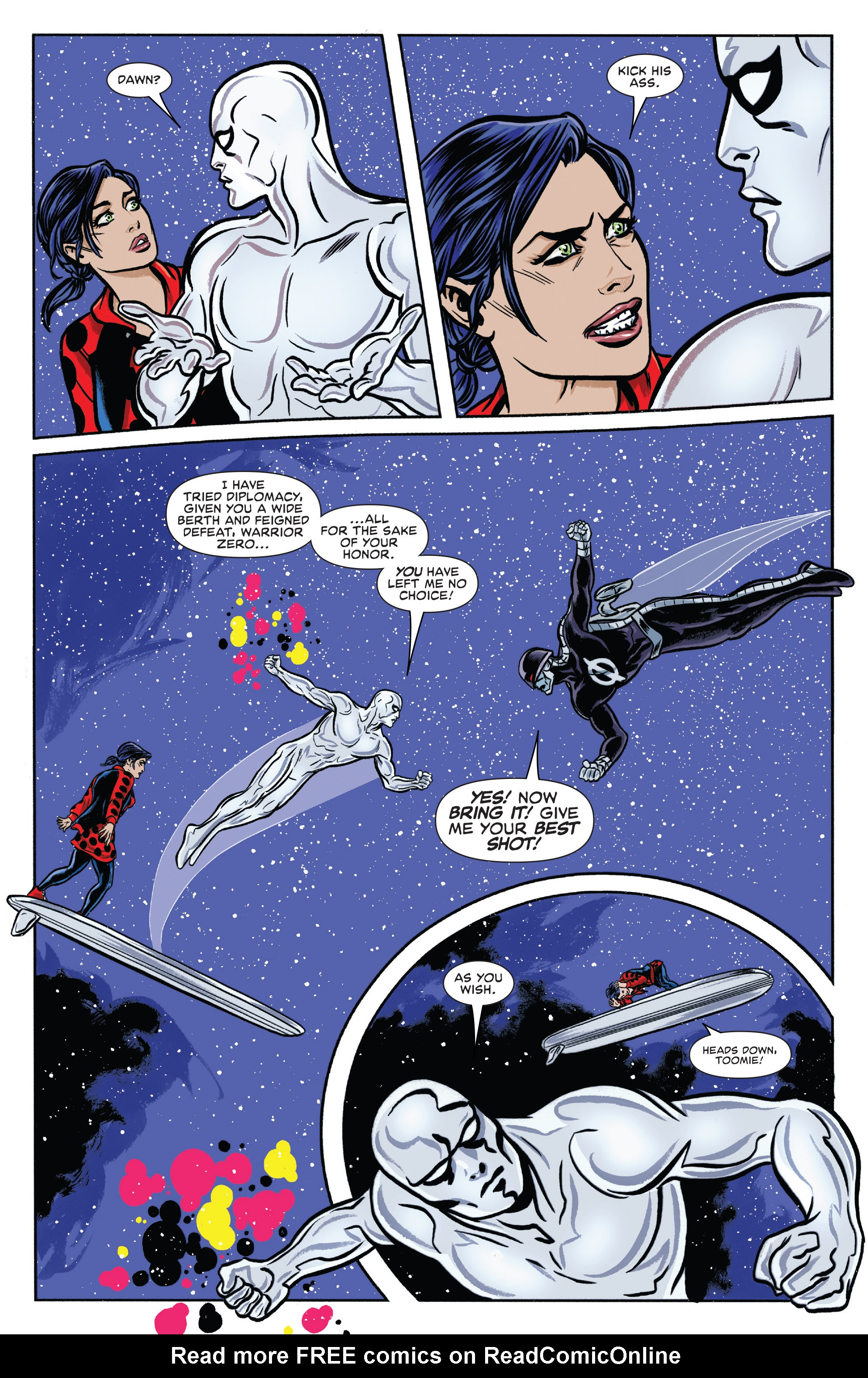 Read online Silver Surfer (2016) comic -  Issue #11 - 15