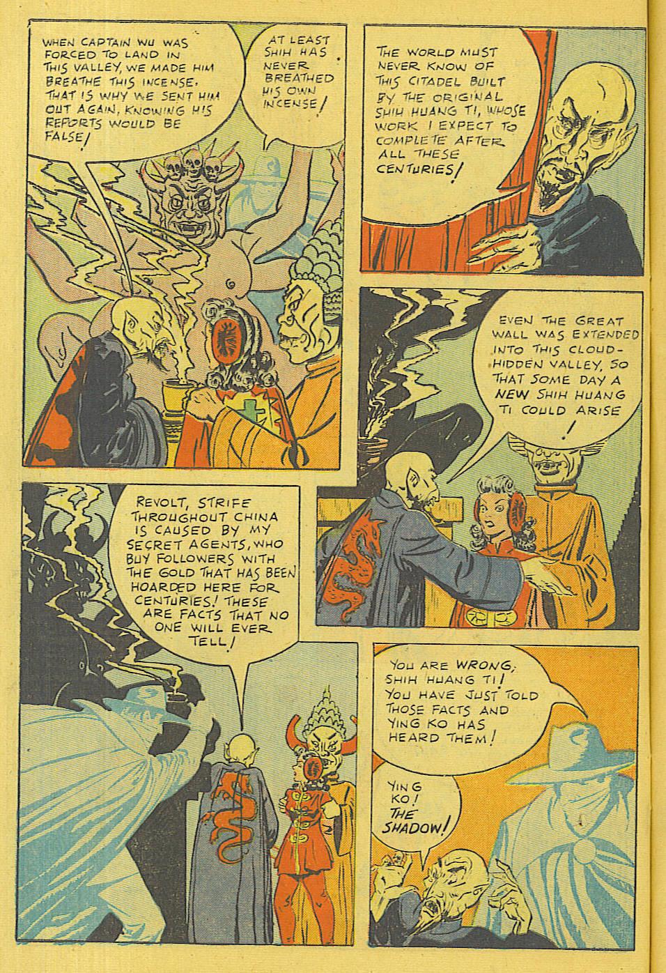 Read online Shadow Comics comic -  Issue #71 - 4