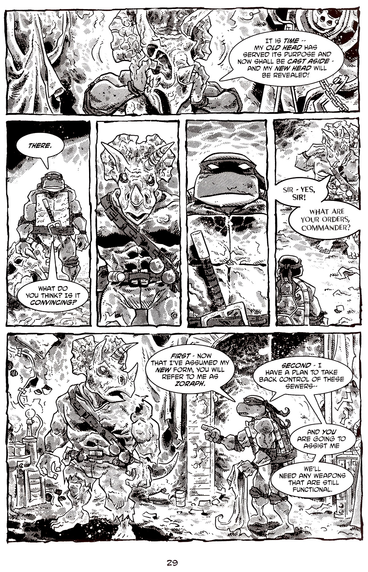 Read online Tales of the TMNT comic -  Issue #70 - 34