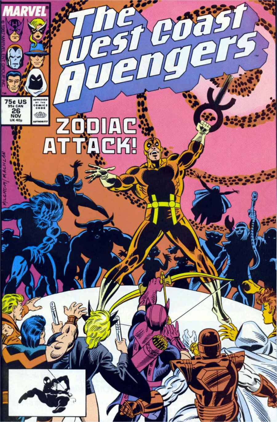 West Coast Avengers (1985) 26 Page 1