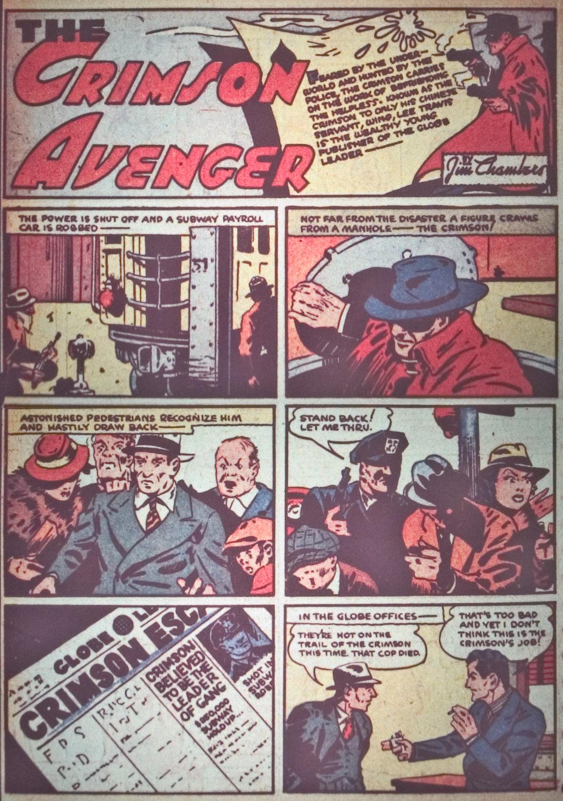 Read online Detective Comics (1937) comic -  Issue #26 - 28