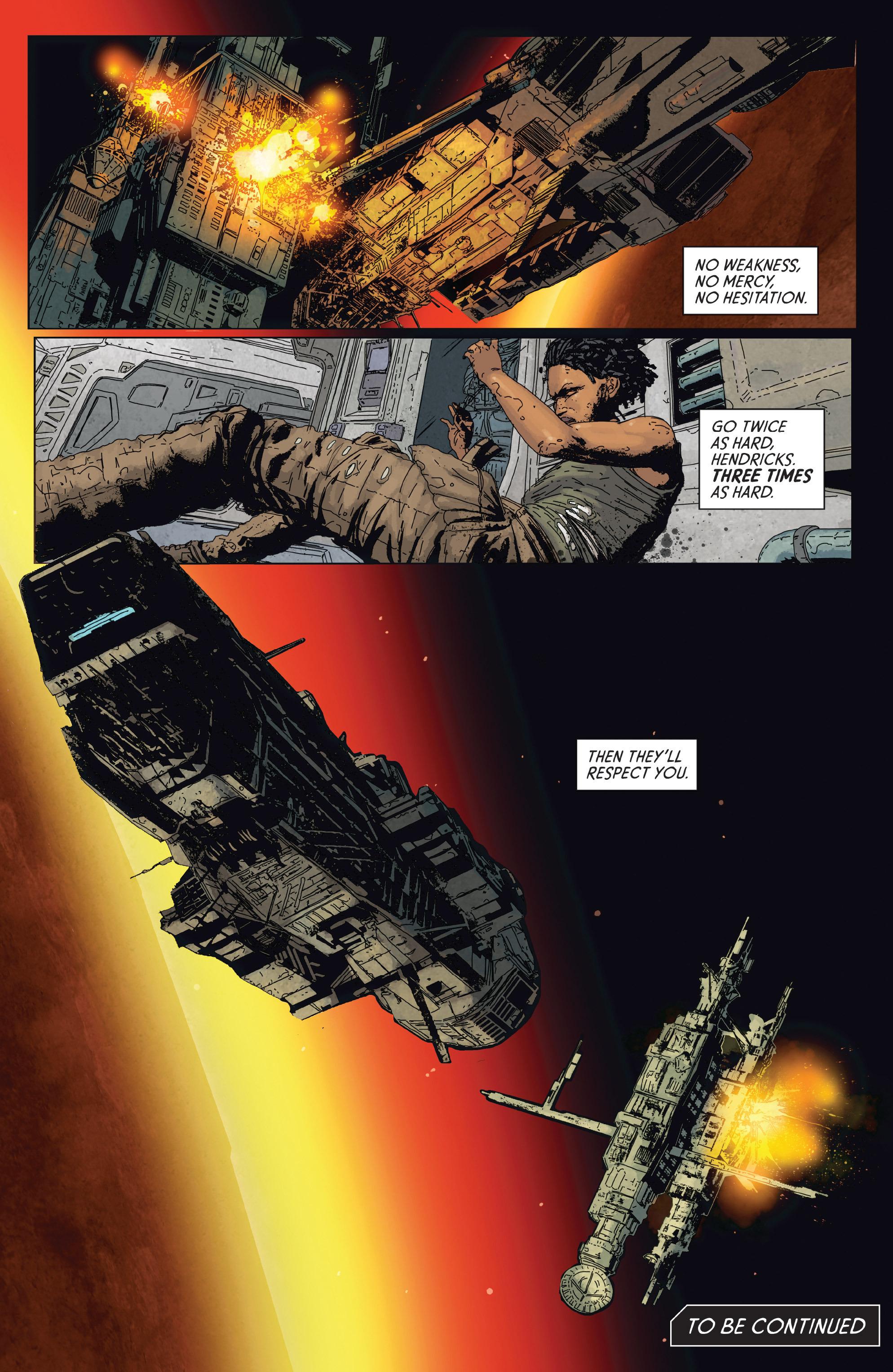 Read online Aliens: Defiance comic -  Issue #2 - 23