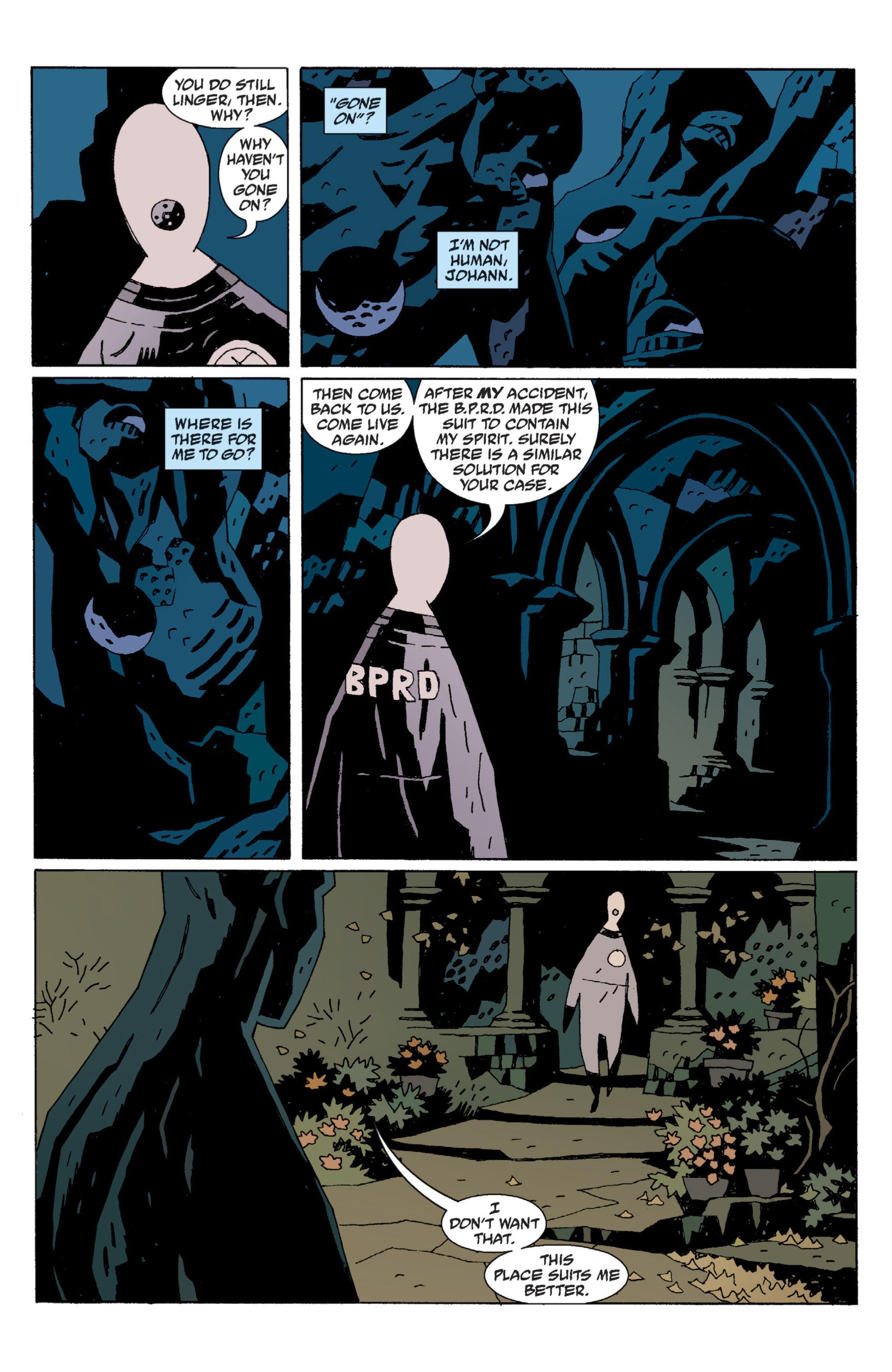 Read online B.P.R.D. (2003) comic -  Issue # TPB 6 - 133