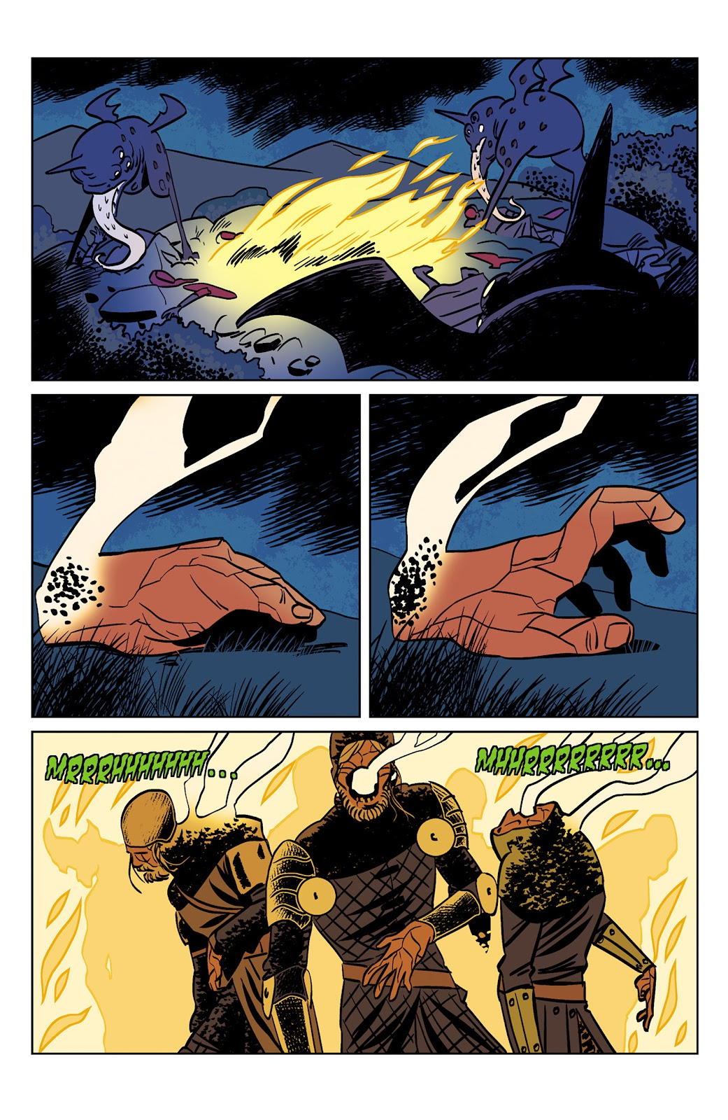 Read online Dark Ages comic -  Issue #1 - 14