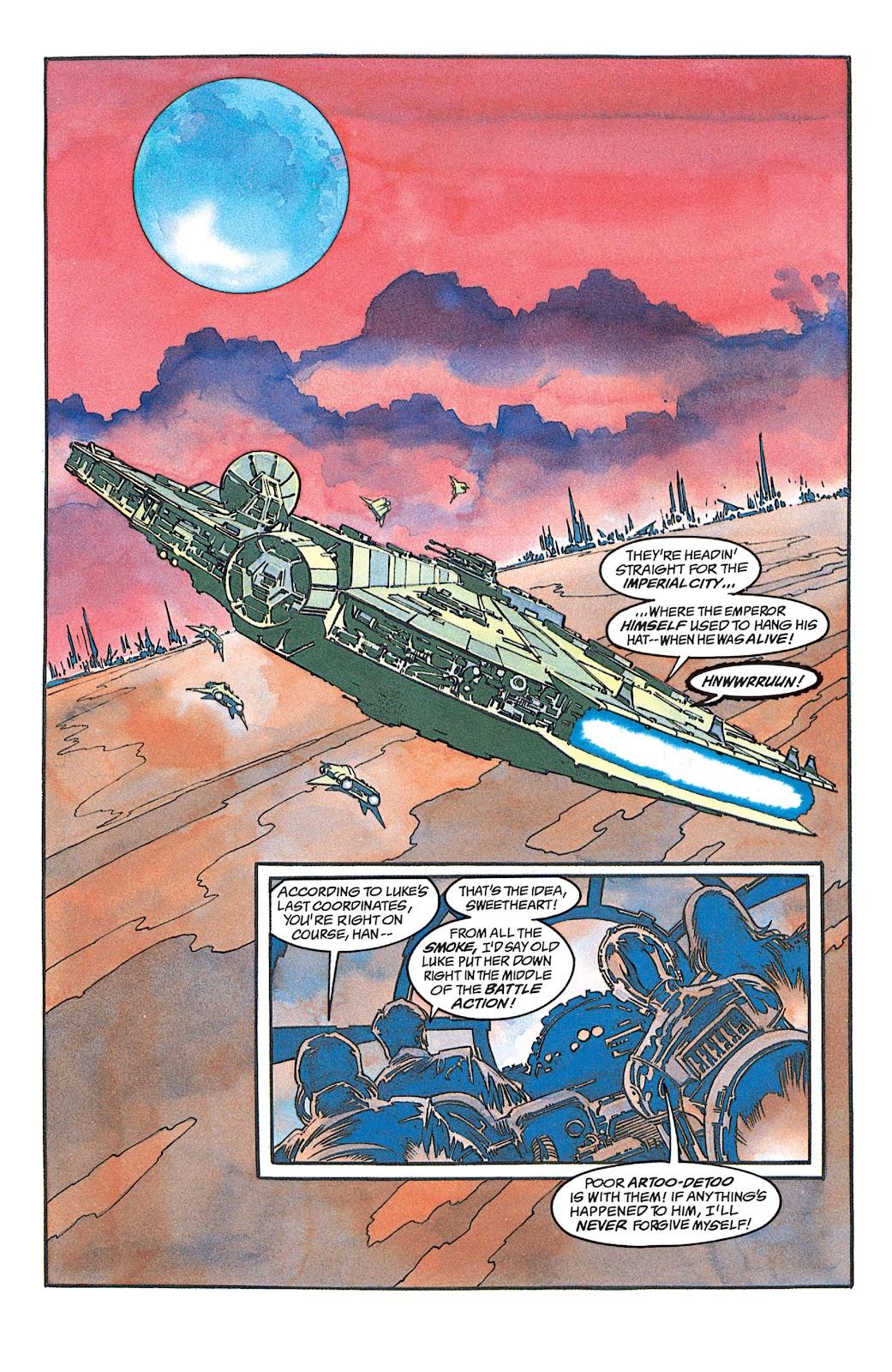 Read online Star Wars: Dark Empire Trilogy comic -  Issue # TPB (Part 1) - 12