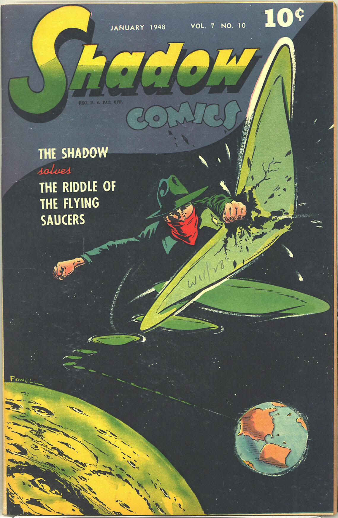 Read online Shadow Comics comic -  Issue #82 - 1
