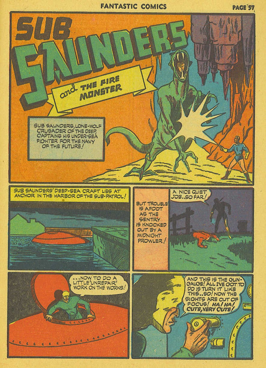 Read online Fantastic Comics comic -  Issue #19 - 43