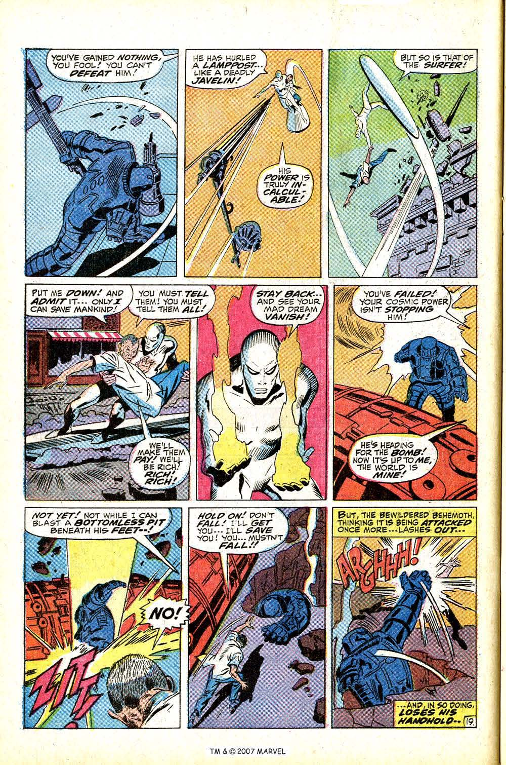 Read online Silver Surfer (1968) comic -  Issue #13 - 28