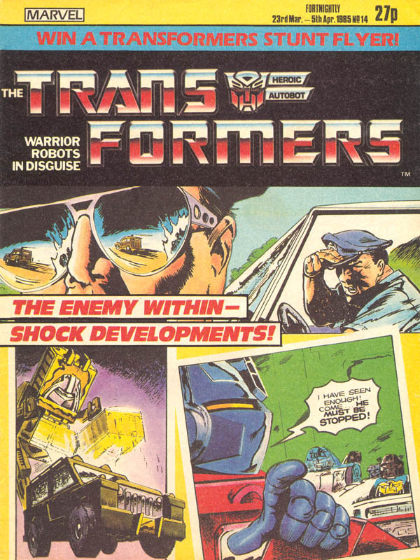 The Transformers (UK) 14 Page 1