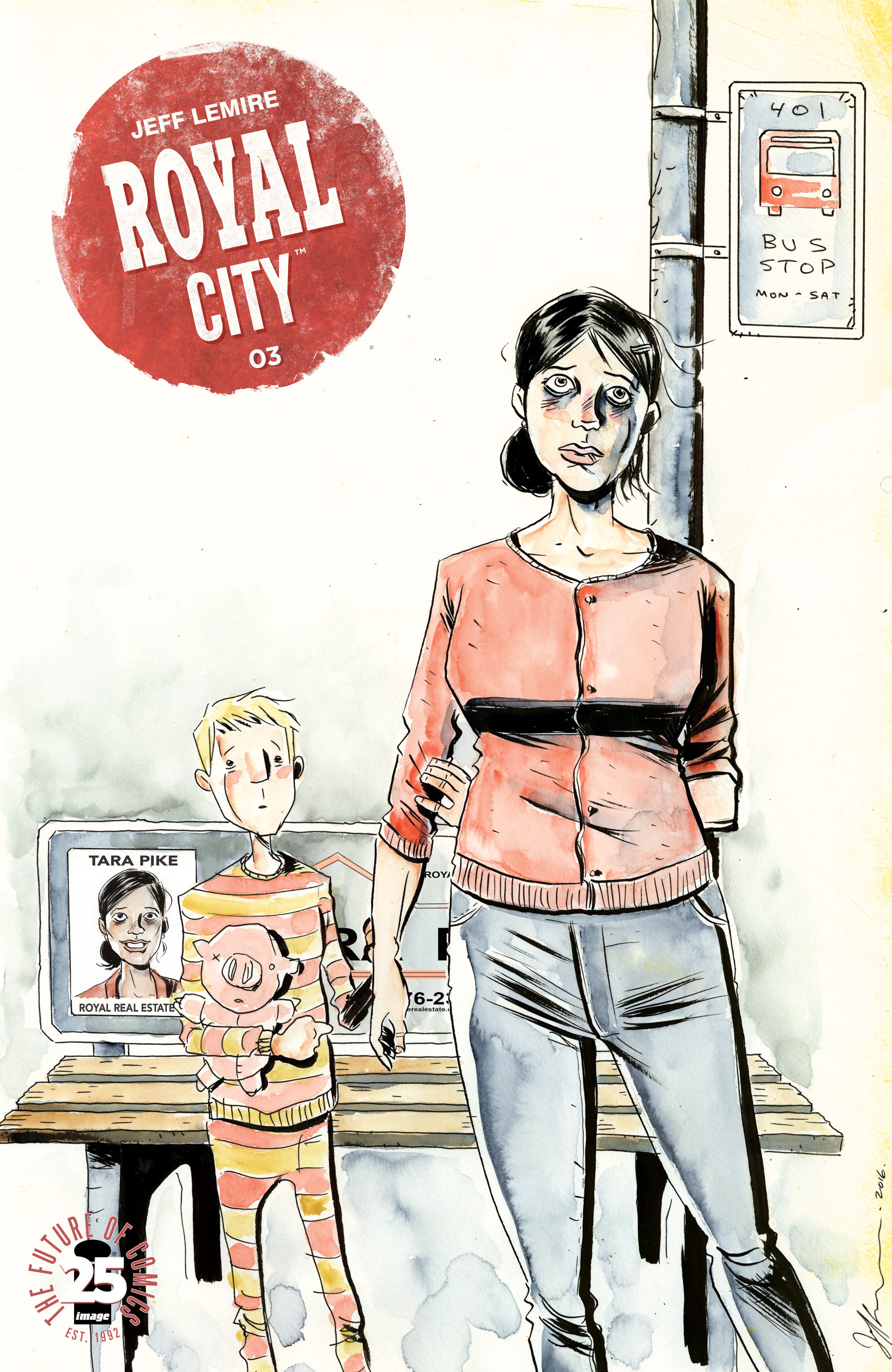 Read online Royal City comic -  Issue #3 - 1