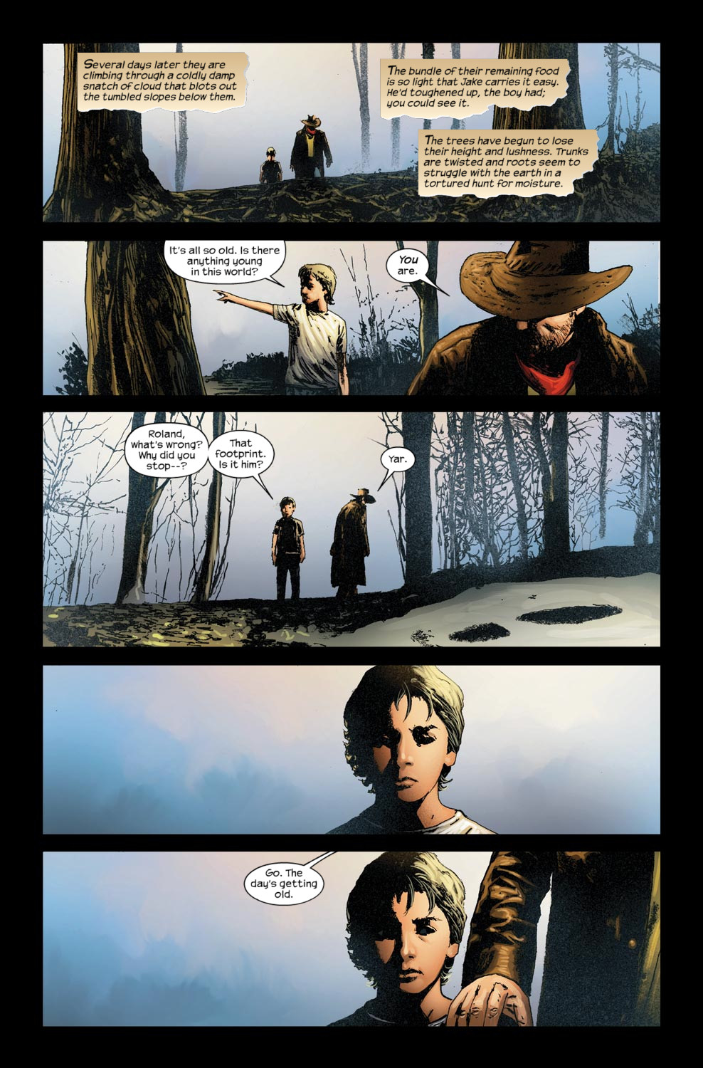 Read online Dark Tower: The Gunslinger - The Way Station comic -  Issue #5 - 19