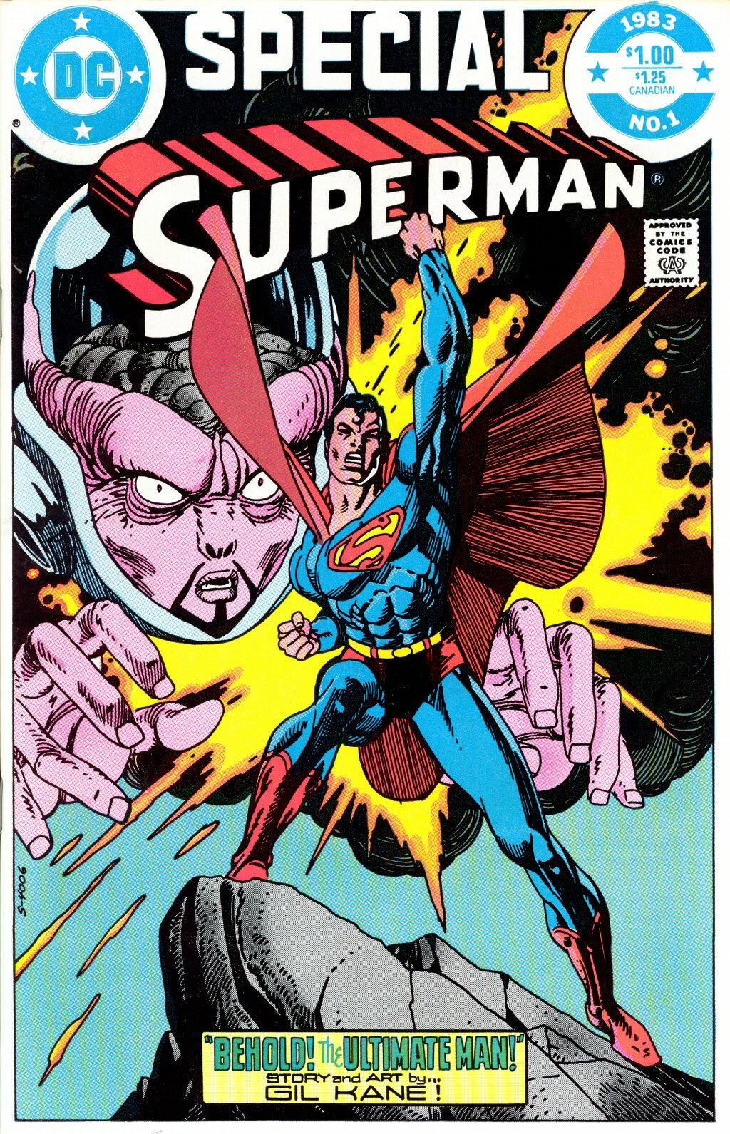 Read online Superman Special (1983) comic -  Issue #1 - 1