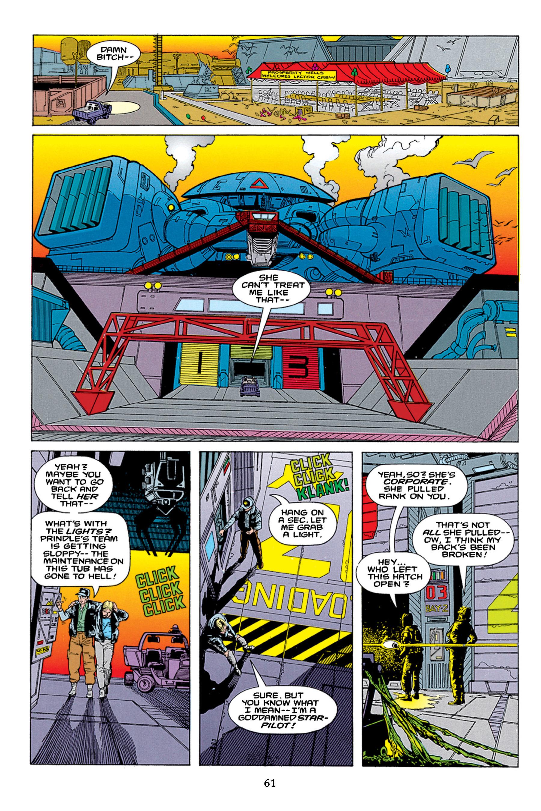 Read online Aliens vs. Predator Omnibus comic -  Issue # _TPB 1 Part 1 - 61