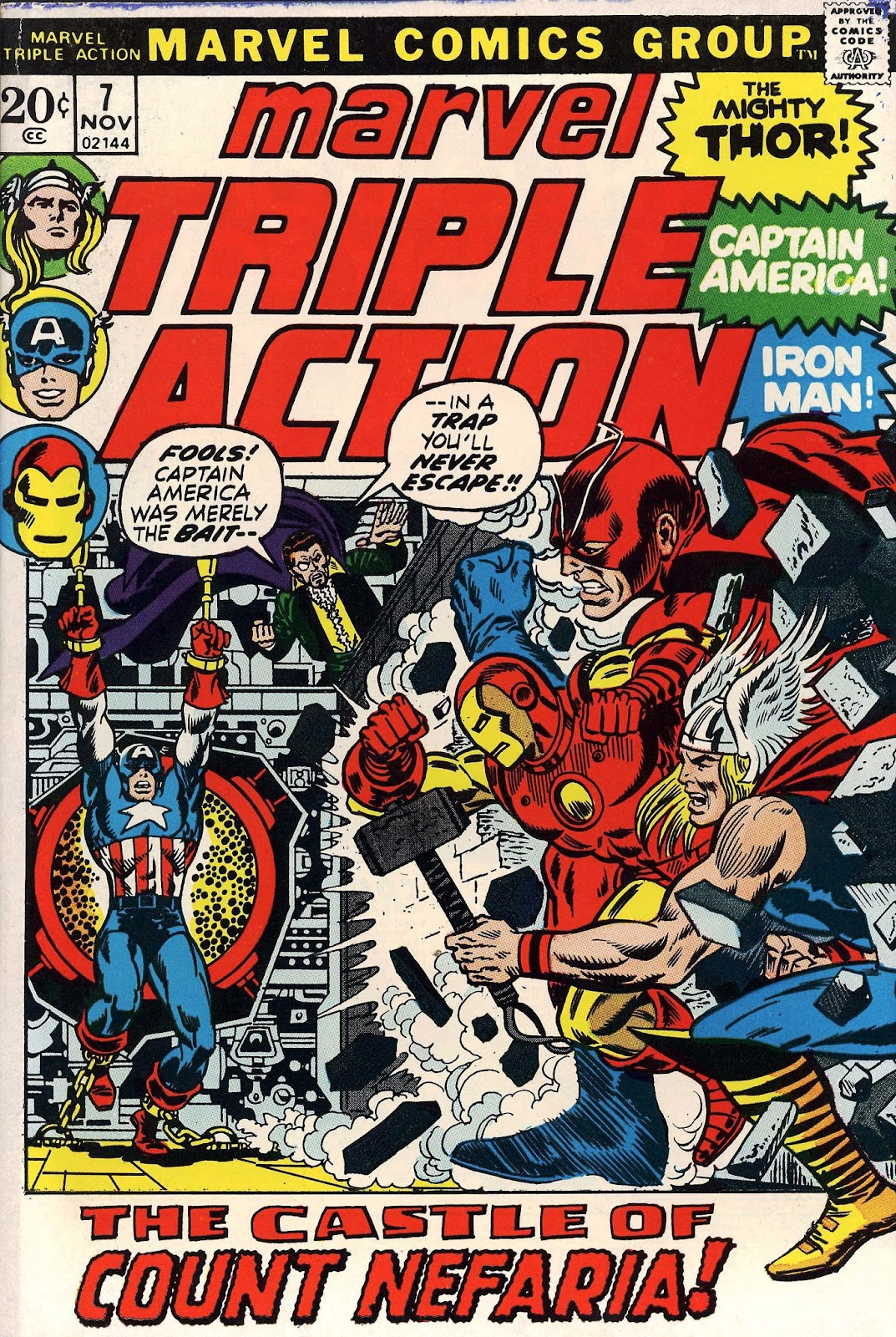 Marvel Triple Action (1972) issue 7 - Page 1