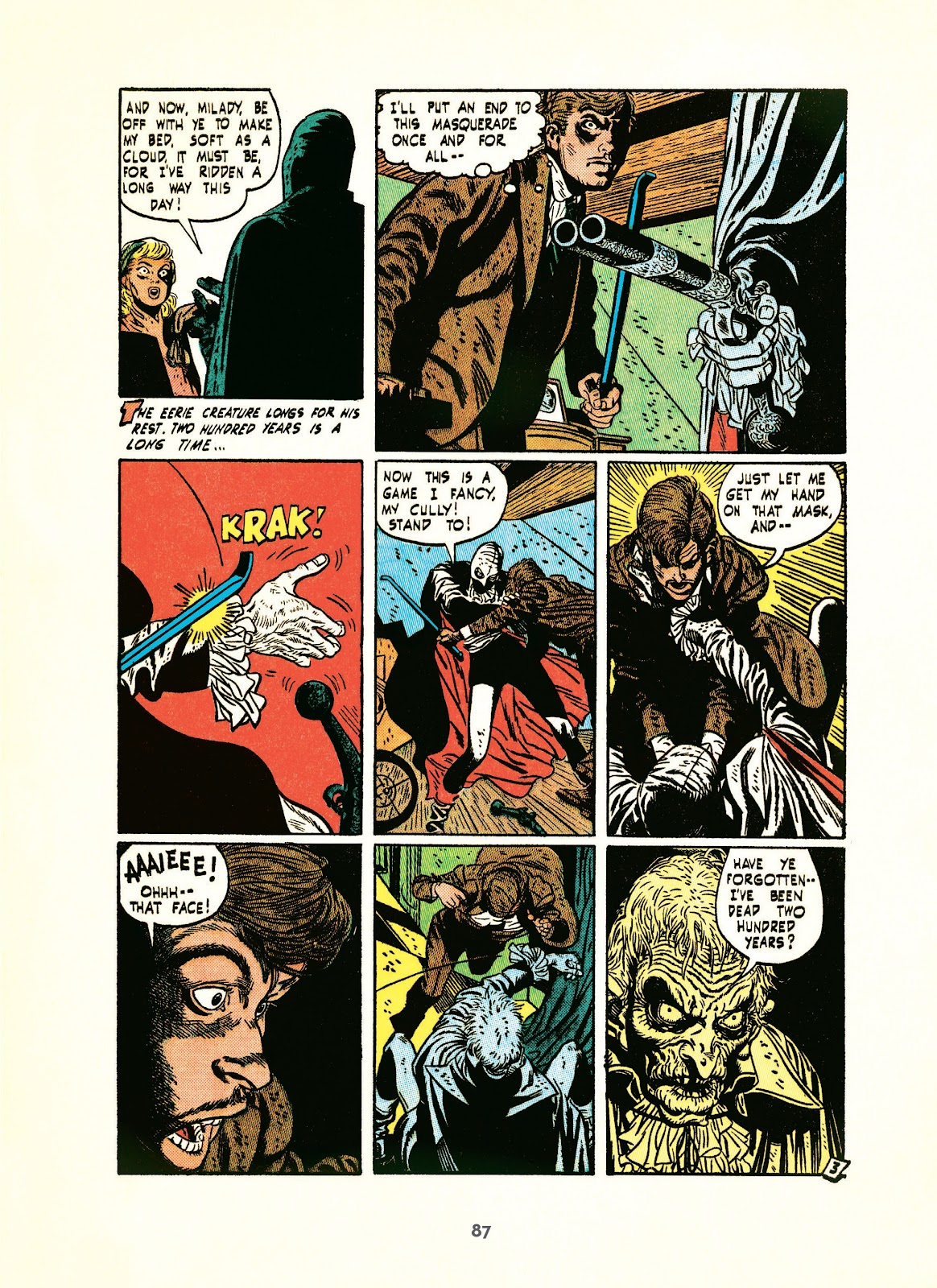 Read online Setting the Standard: Comics by Alex Toth 1952-1954 comic -  Issue # TPB (Part 1) - 86