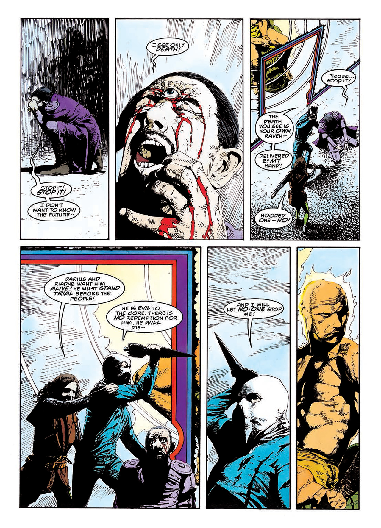 Read online Mazeworld comic -  Issue # TPB - 122