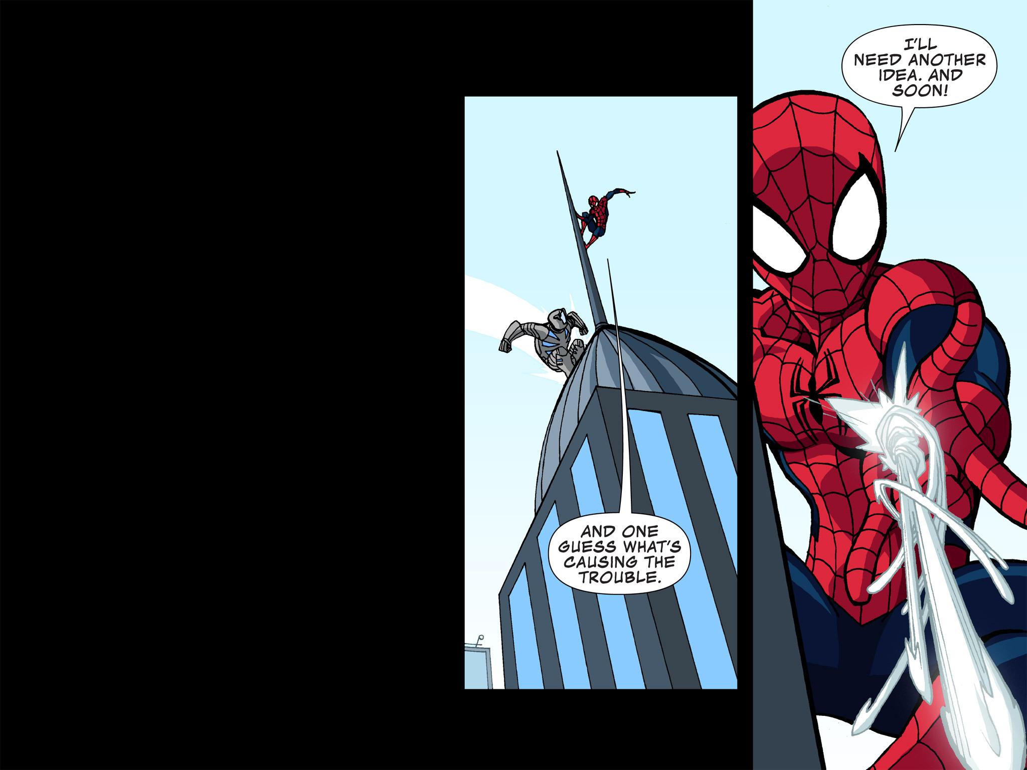 Read online Ultimate Spider-Man (Infinite Comics) (2015) comic -  Issue #3 - 21