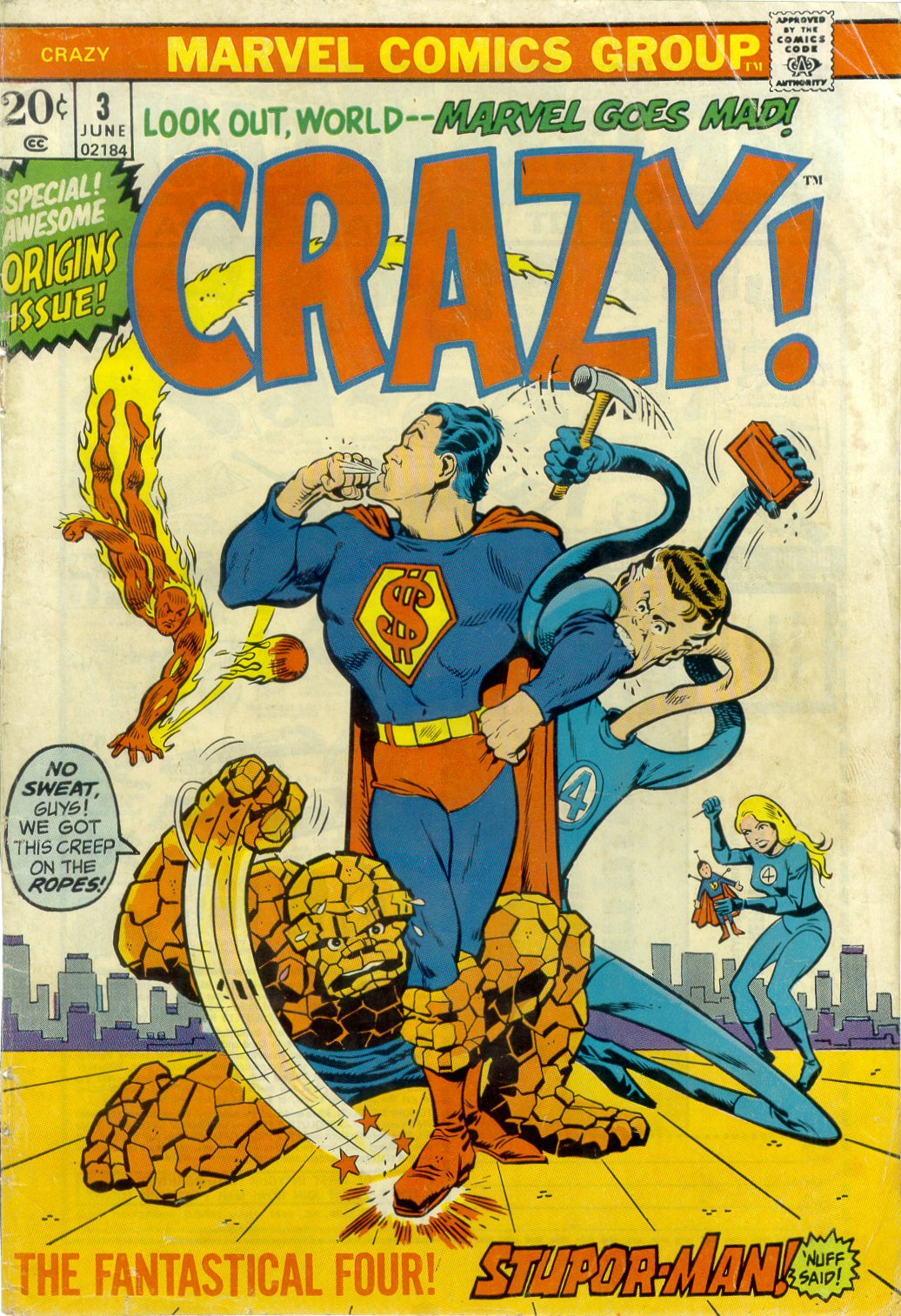 Crazy (1973) issue 3 - Page 1