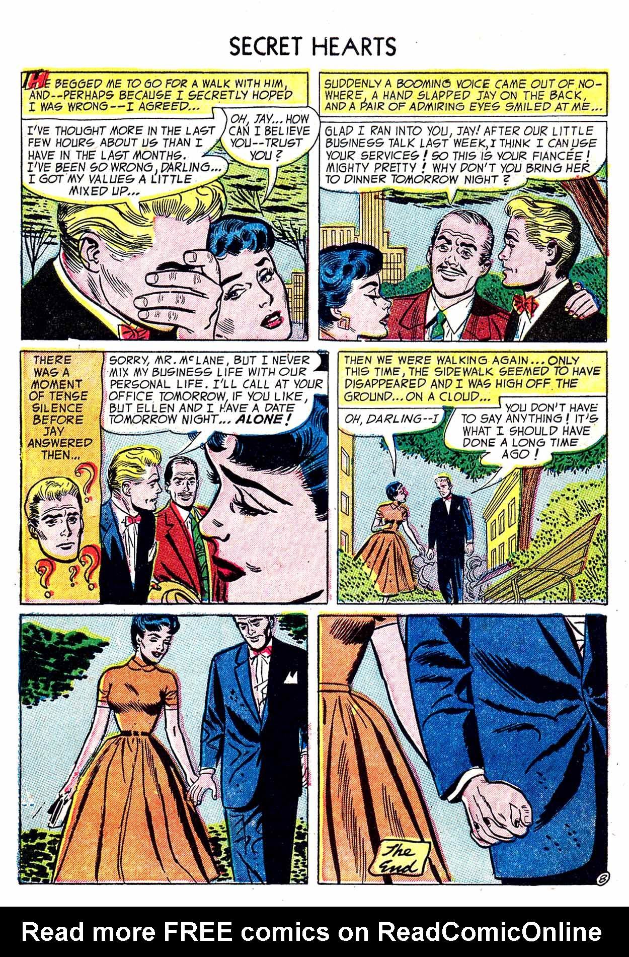 Read online Secret Hearts comic -  Issue #19 - 10