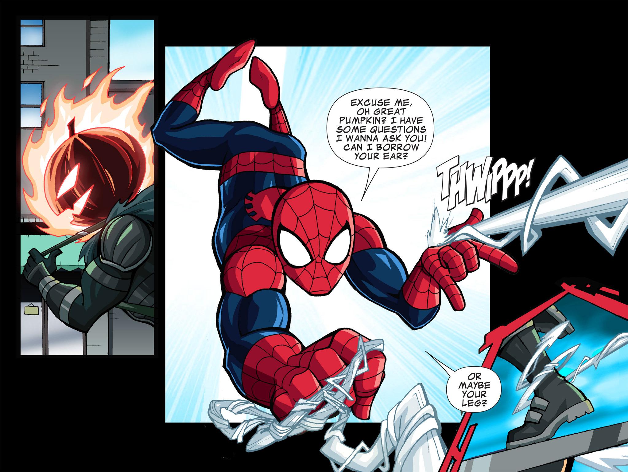 Read online Ultimate Spider-Man (Infinite Comics) (2015) comic -  Issue #1 - 9