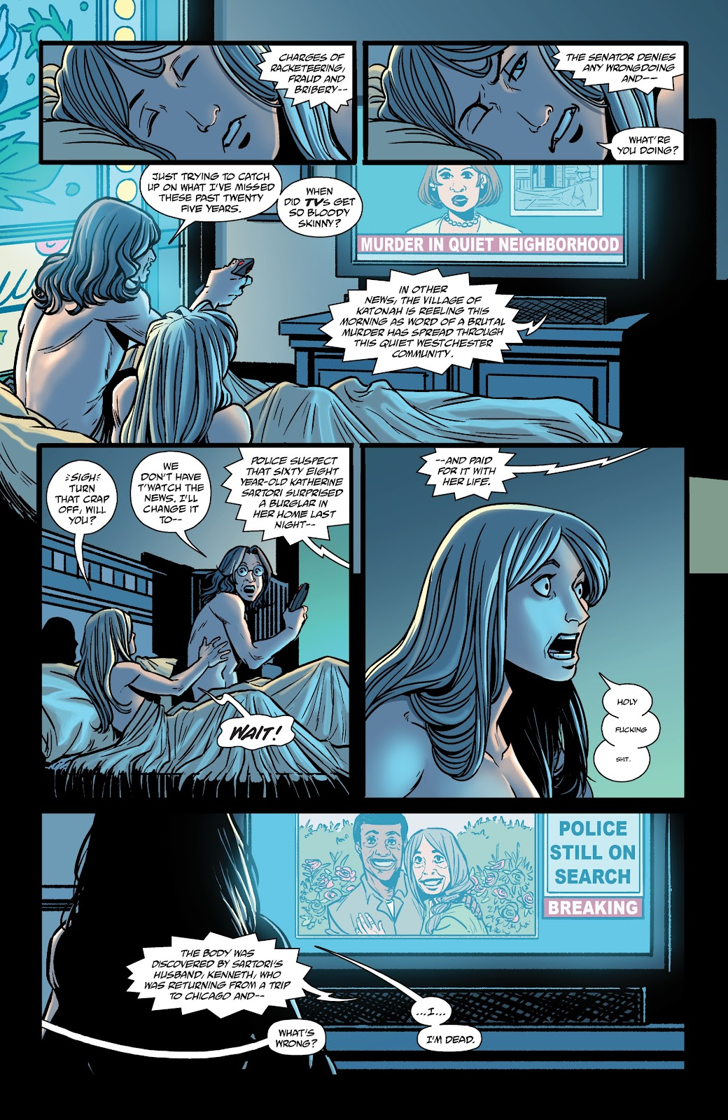 Read online The Girl In The Bay comic -  Issue #2 - 20