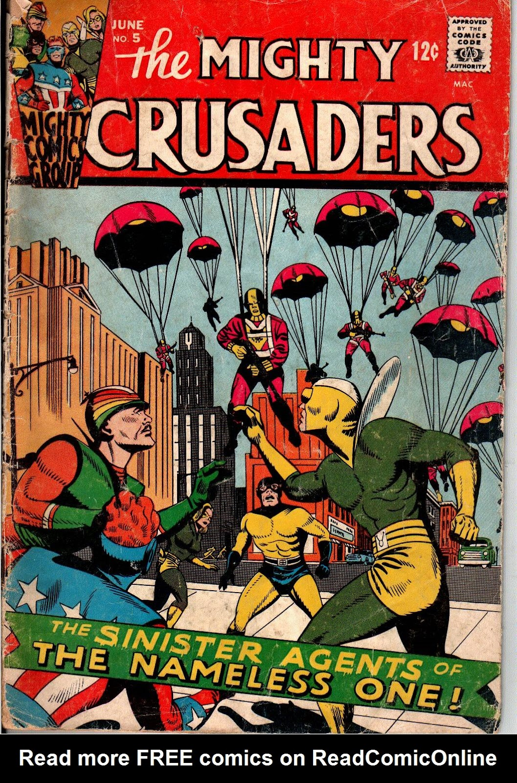The Mighty Crusaders (1965) Issue #5 #5 - English 1