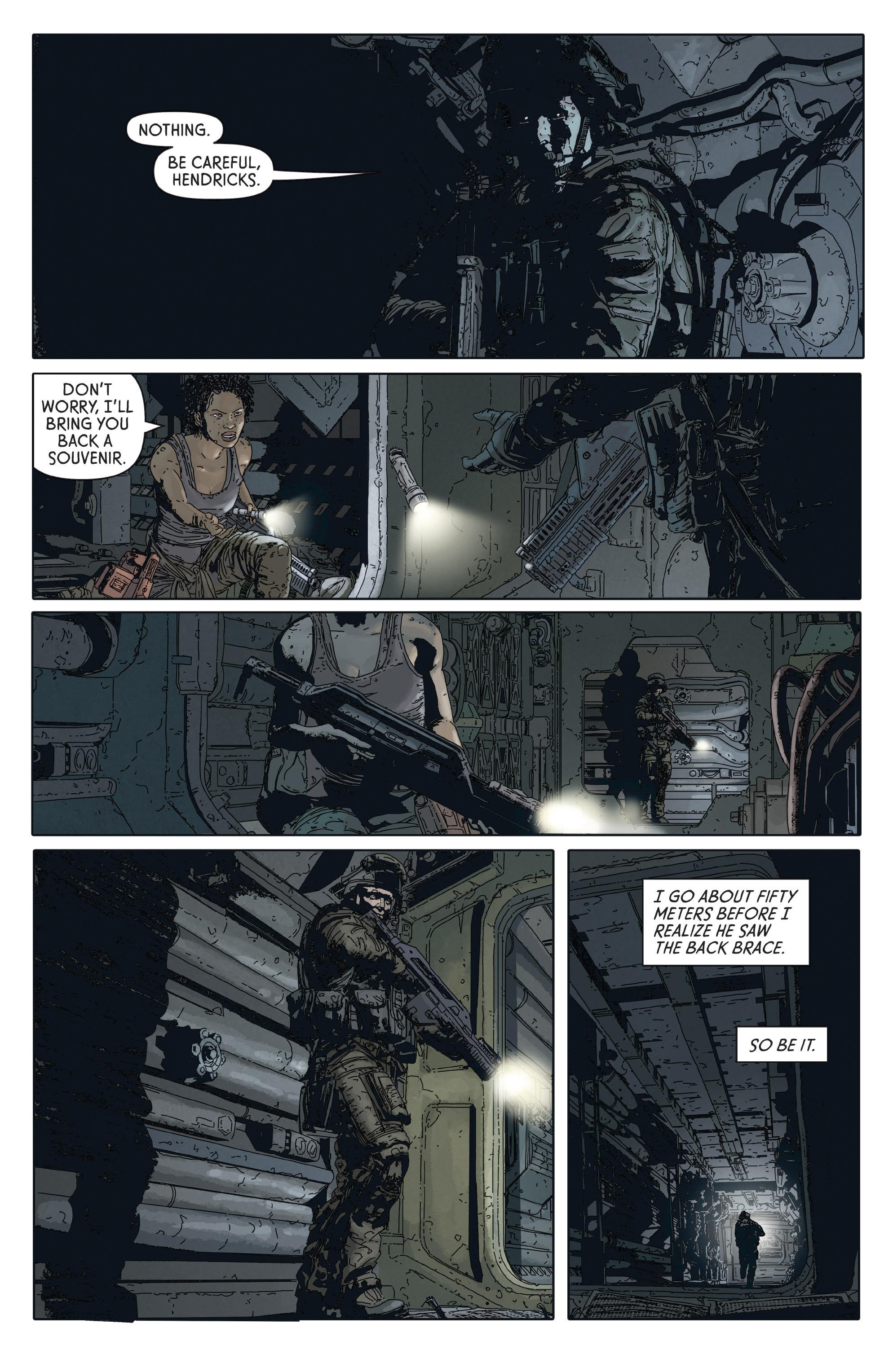 Read online Aliens: Defiance comic -  Issue #2 - 12