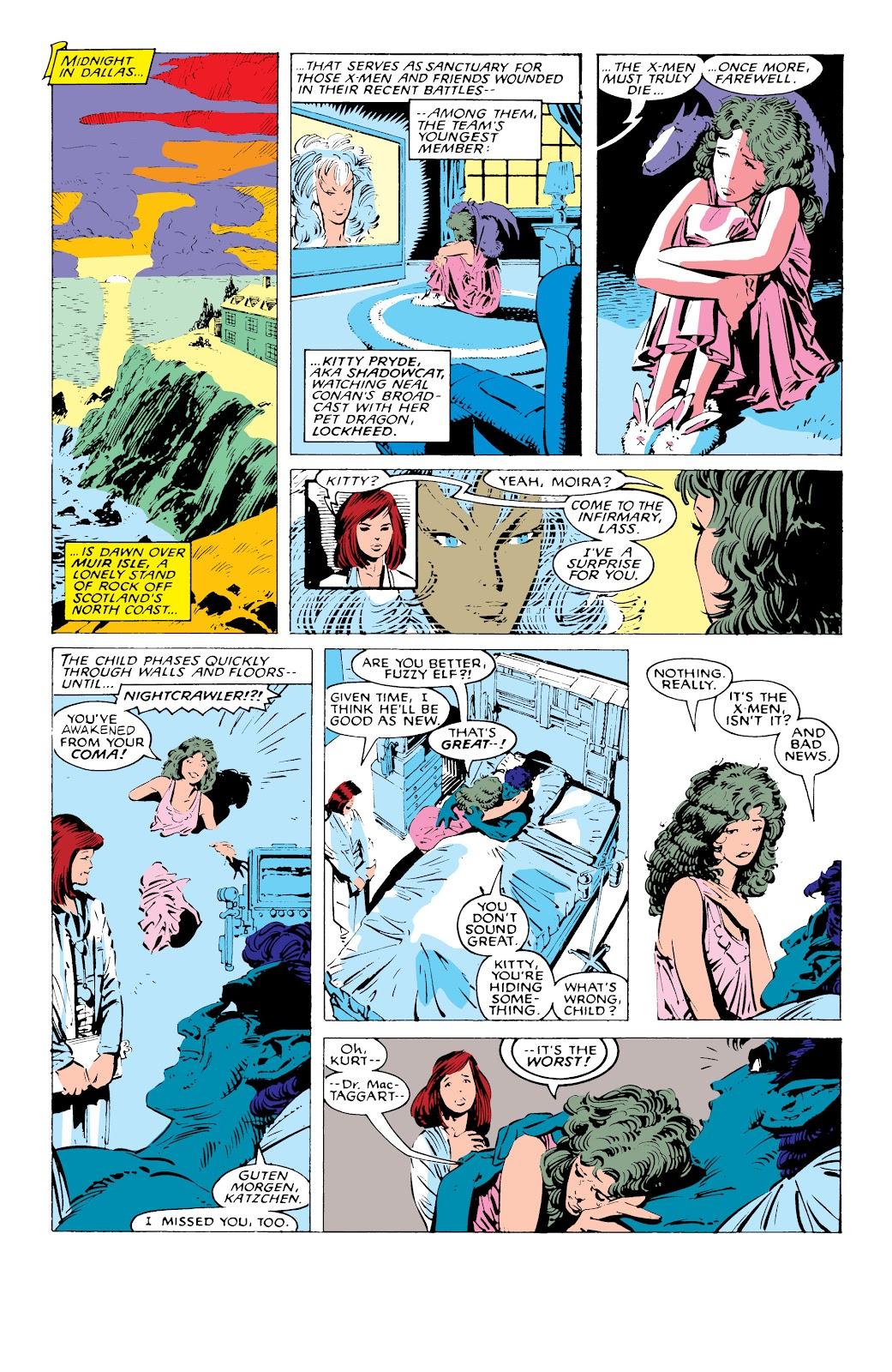 Read online X-Men Milestones: Fall of the Mutants comic -  Issue # TPB (Part 1) - 87
