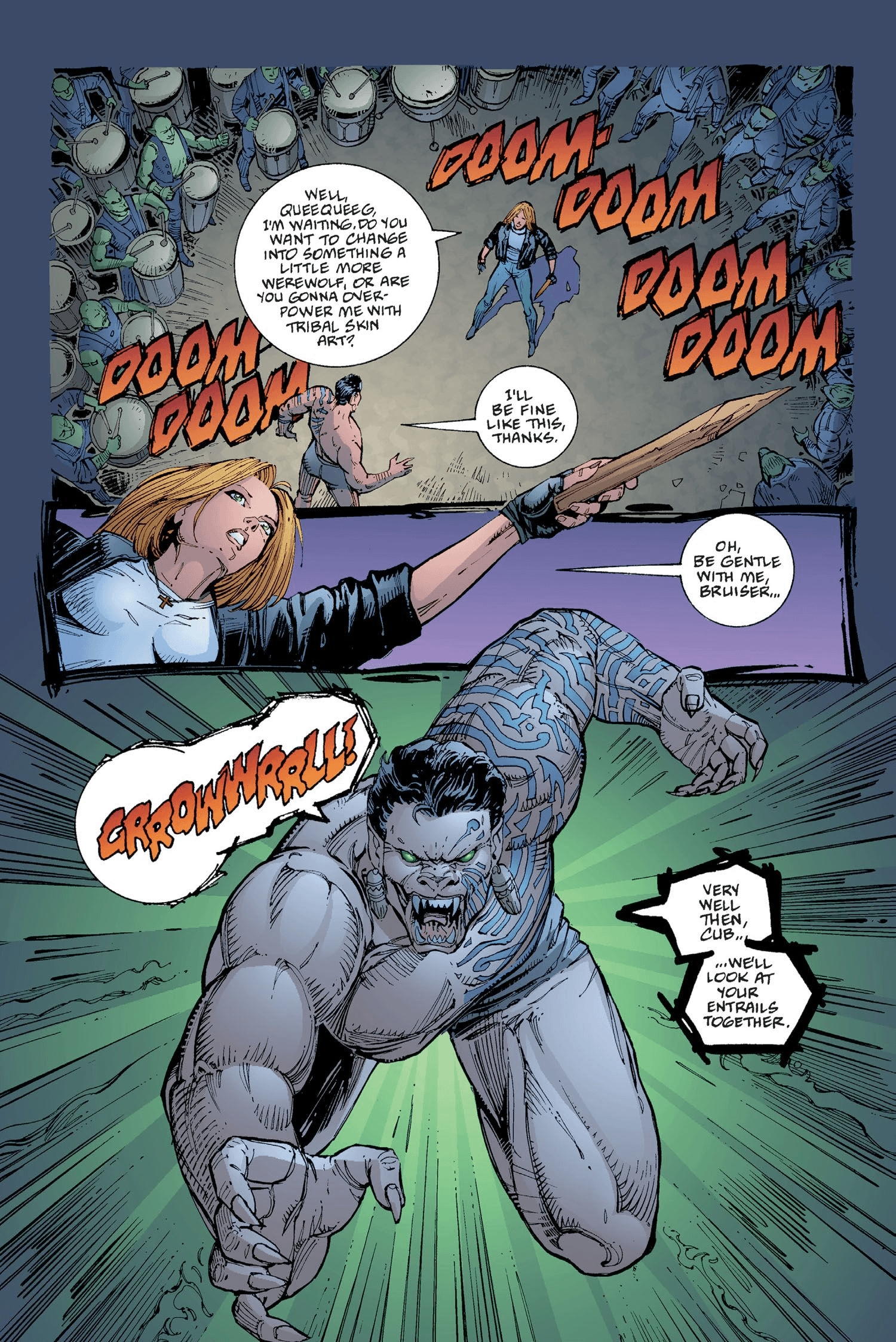 Read online Buffy the Vampire Slayer: Omnibus comic -  Issue # TPB 2 - 289