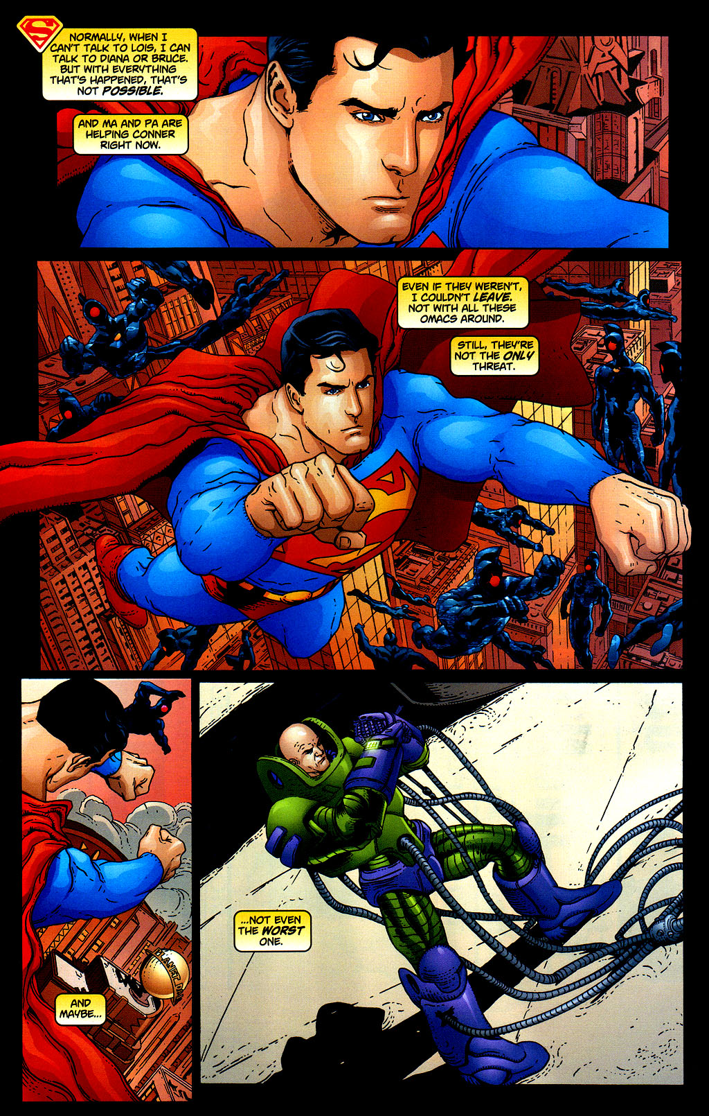 Read online Adventures of Superman (1987) comic -  Issue #645 - 13