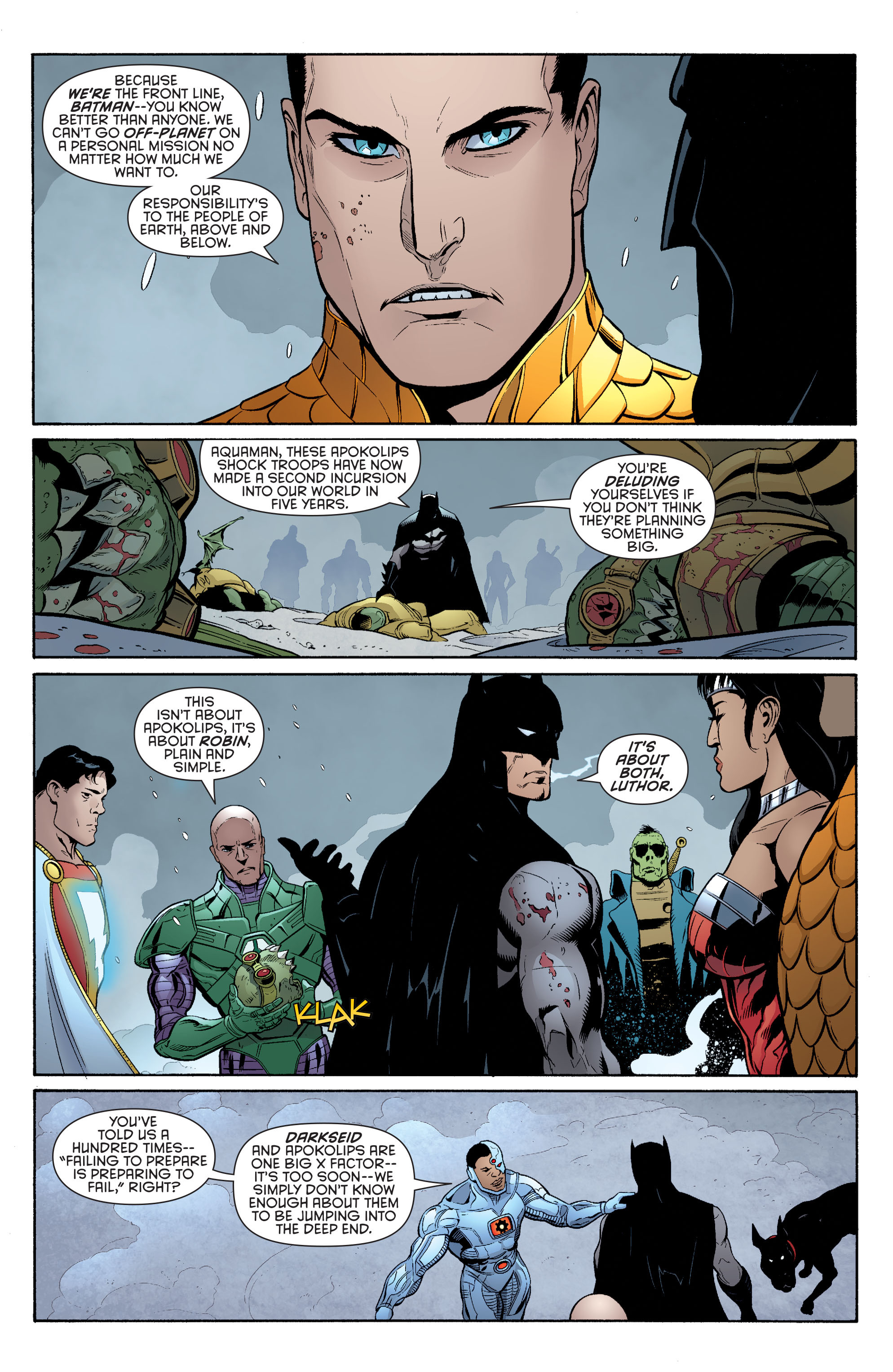 Read online Batman and Robin (2011) comic -  Issue #33 - 3