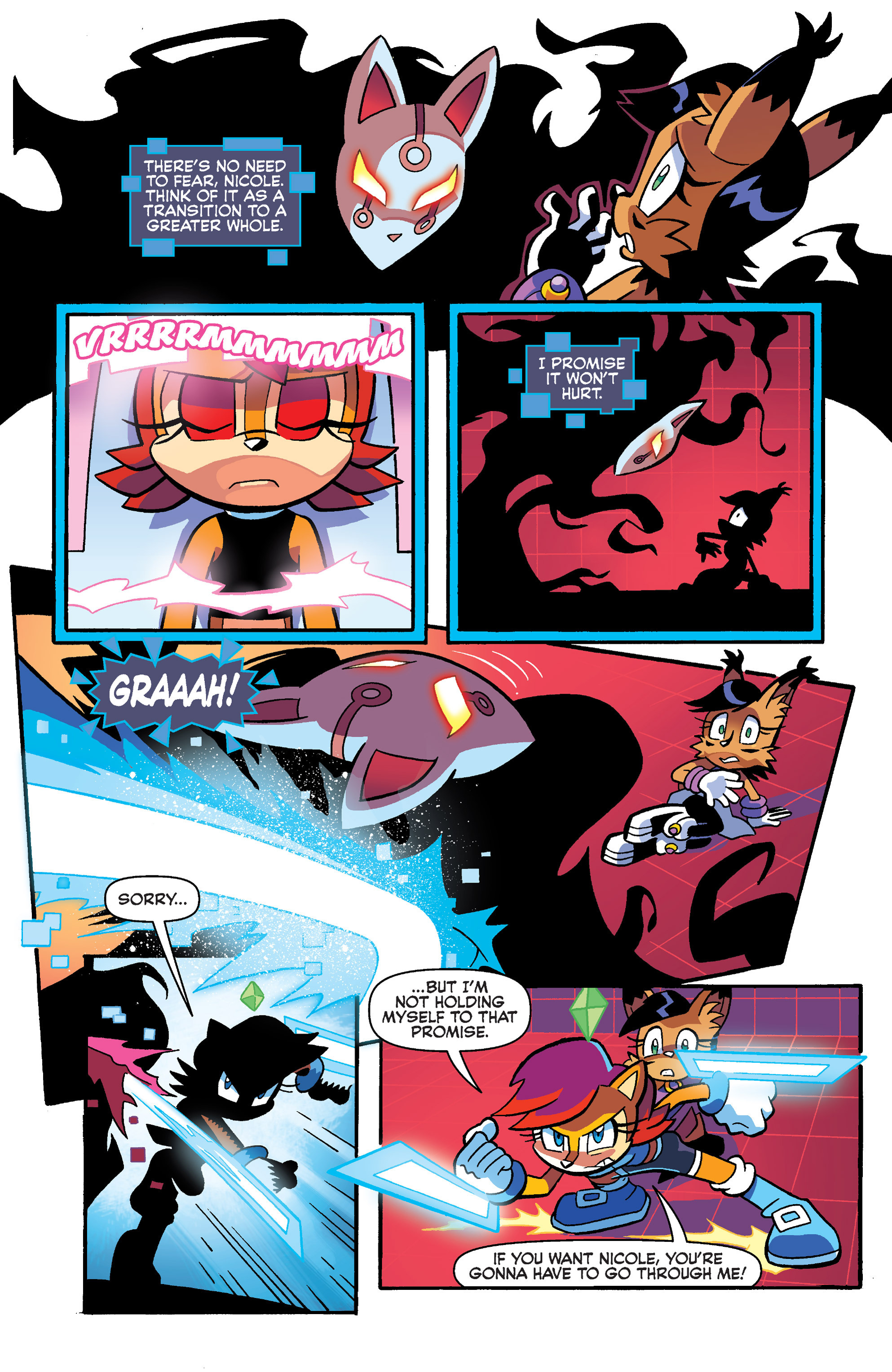 Read online Sonic Universe comic -  Issue #73 - 22