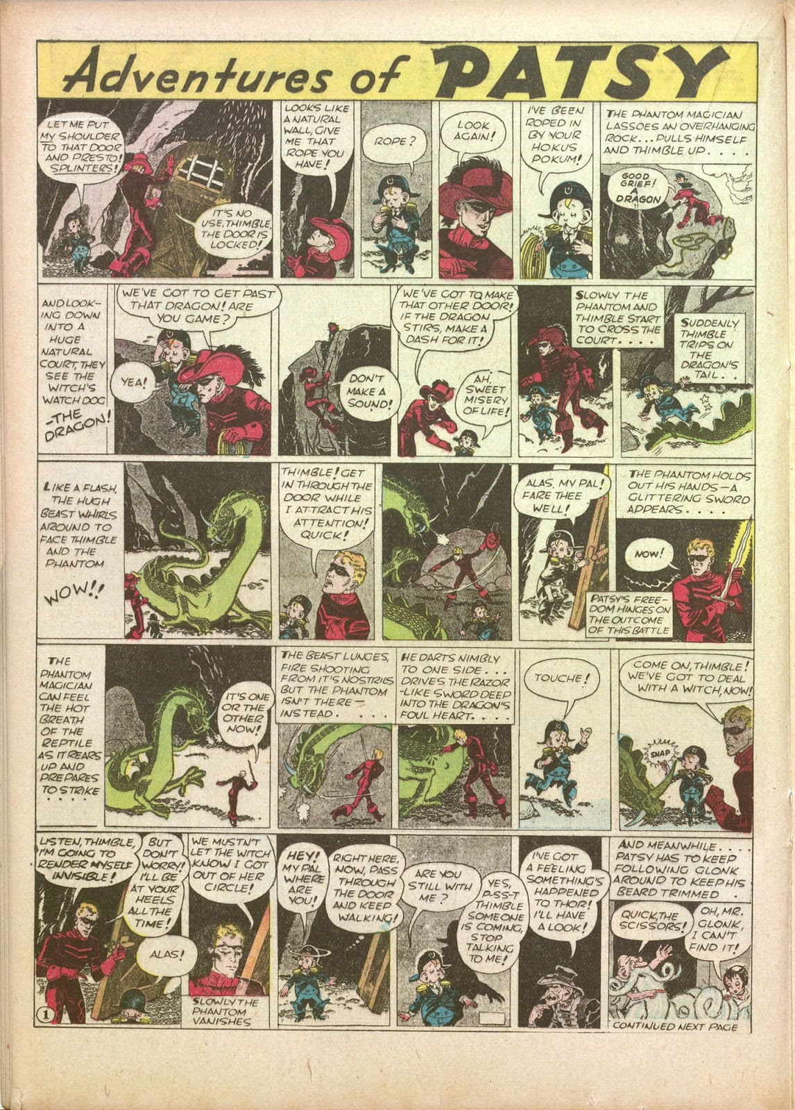 Read online Famous Funnies comic -  Issue #35 - 26