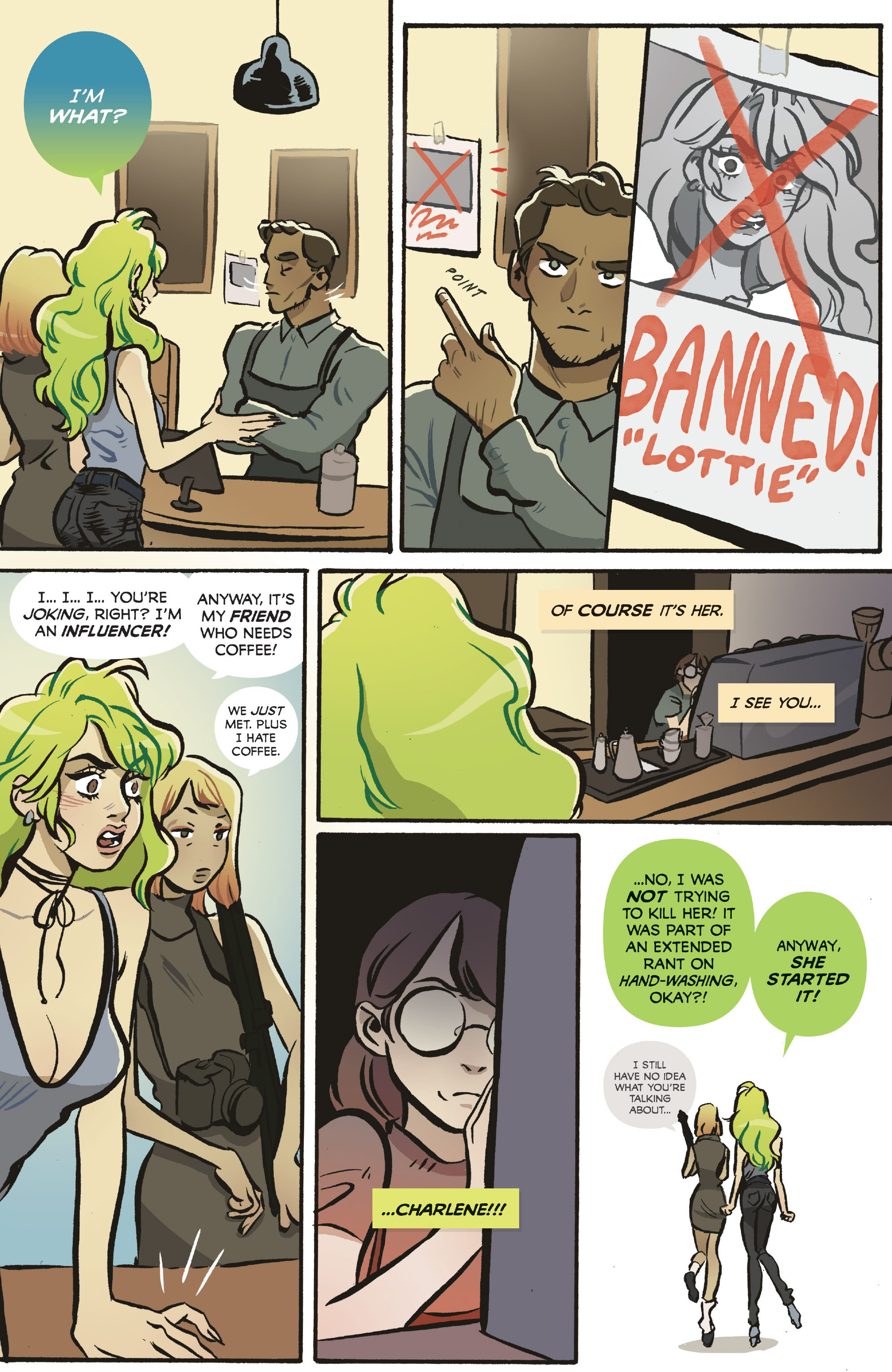 Read online Snotgirl comic -  Issue #5 - 5