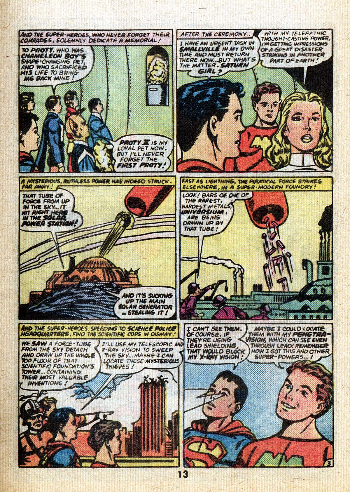 Read online Adventure Comics (1938) comic -  Issue #502 - 13