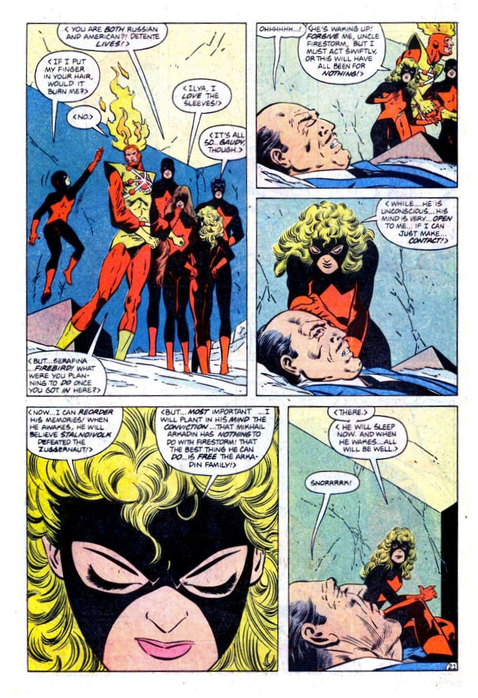 Firestorm, the Nuclear Man issue 73 - Page 22