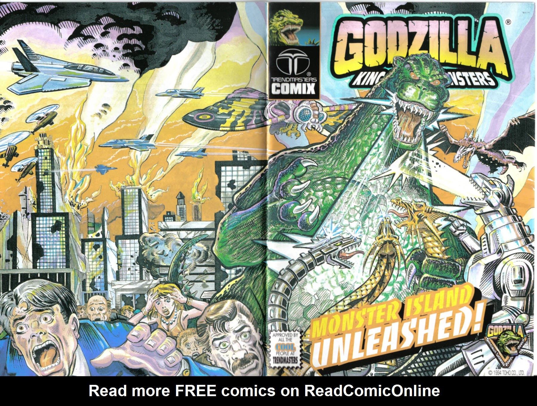 Godzilla: King of the Monsters Full Page 1