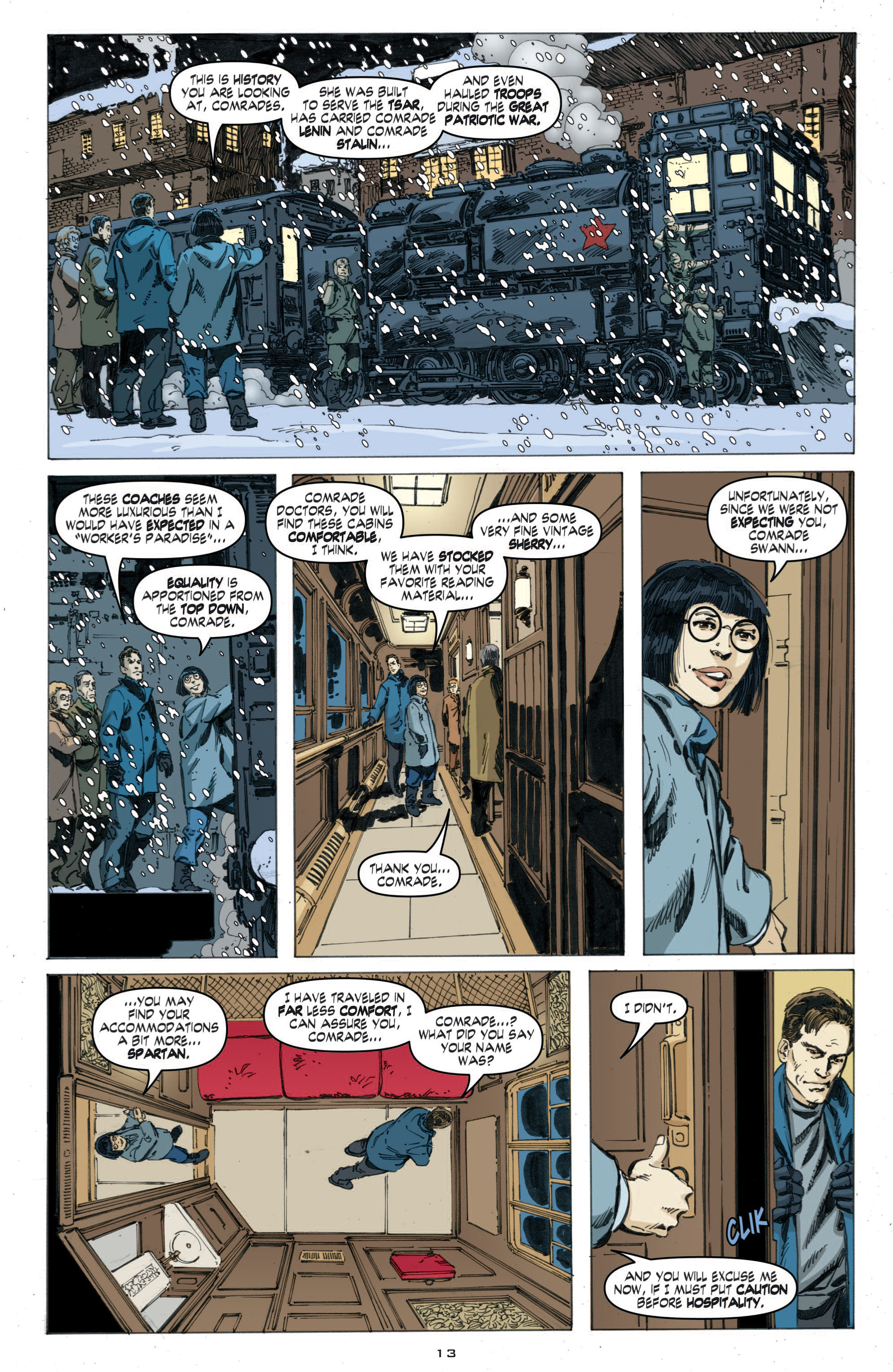 Read online Cold War comic -  Issue # TPB - 71
