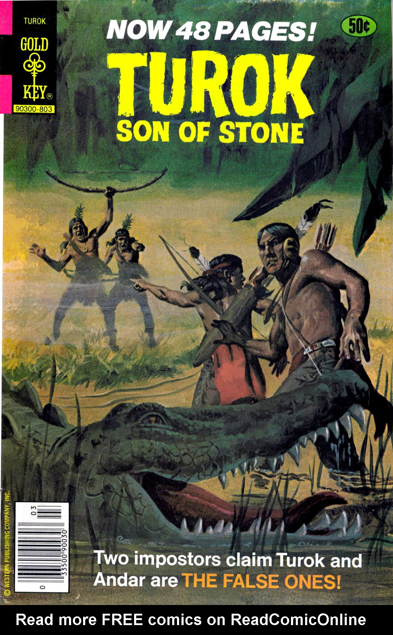 Read online Turok, Son of Stone comic -  Issue #114 - 1