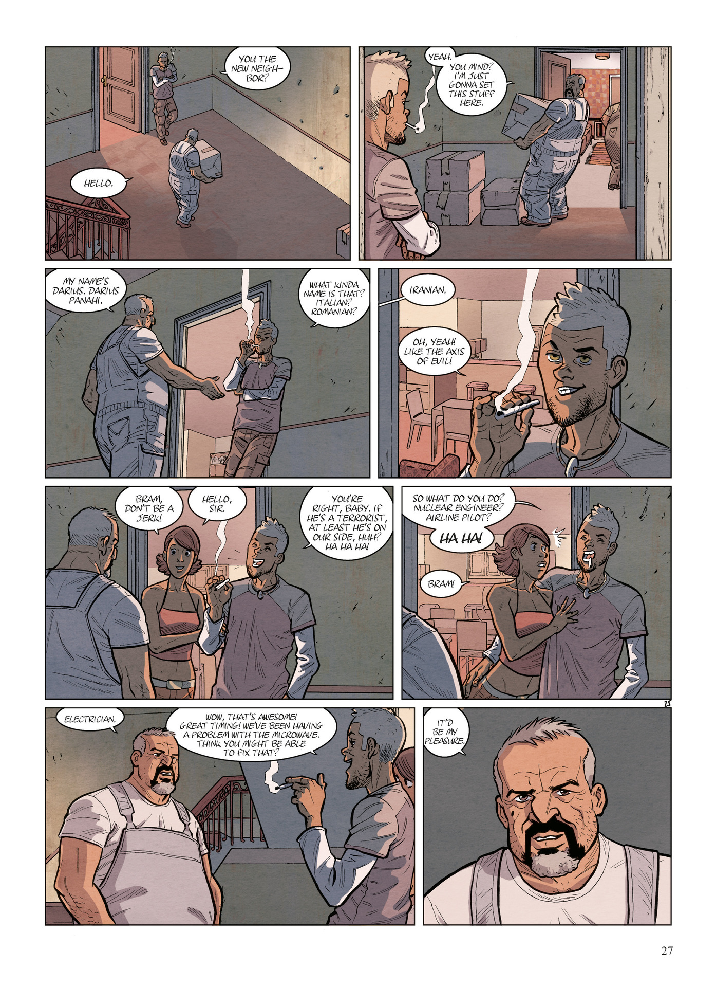 Read online Alter Ego comic -  Issue #6 - 29