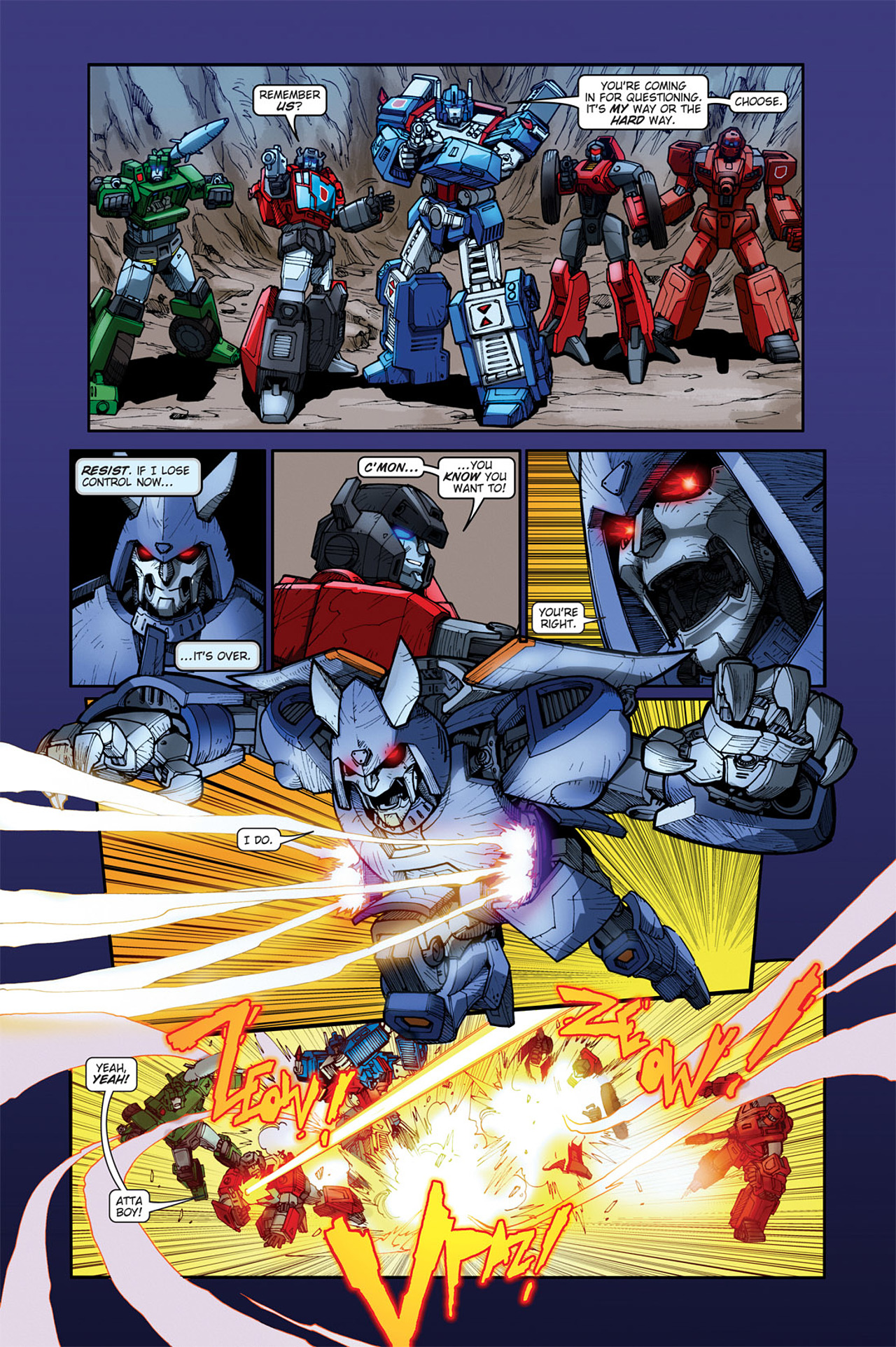 Read online Transformers Spotlight: Cyclonus comic -  Issue # Full - 21